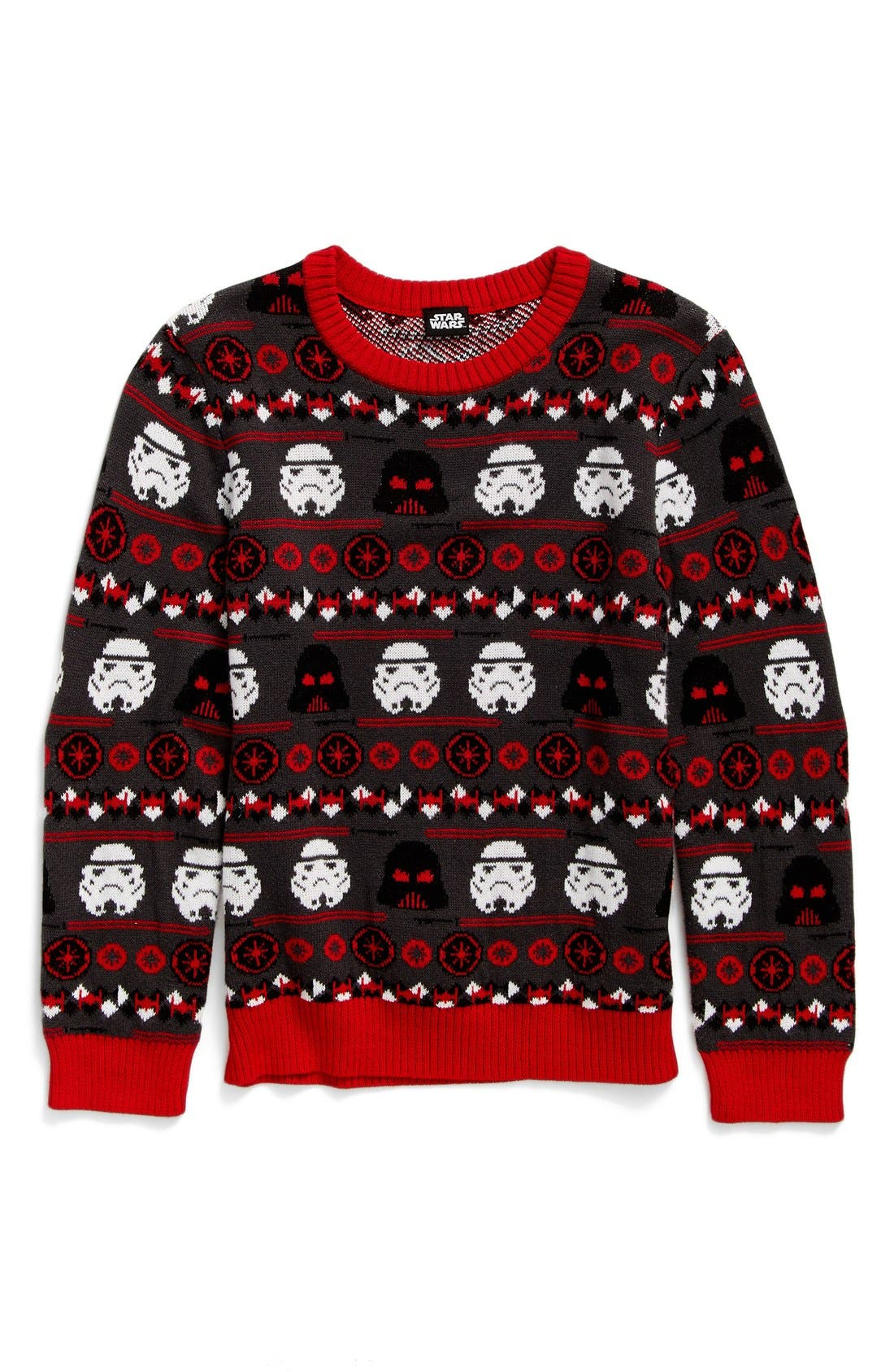 Alternate Image 1 Selected - Jem Holiday Wars Sweater (Big Boys)