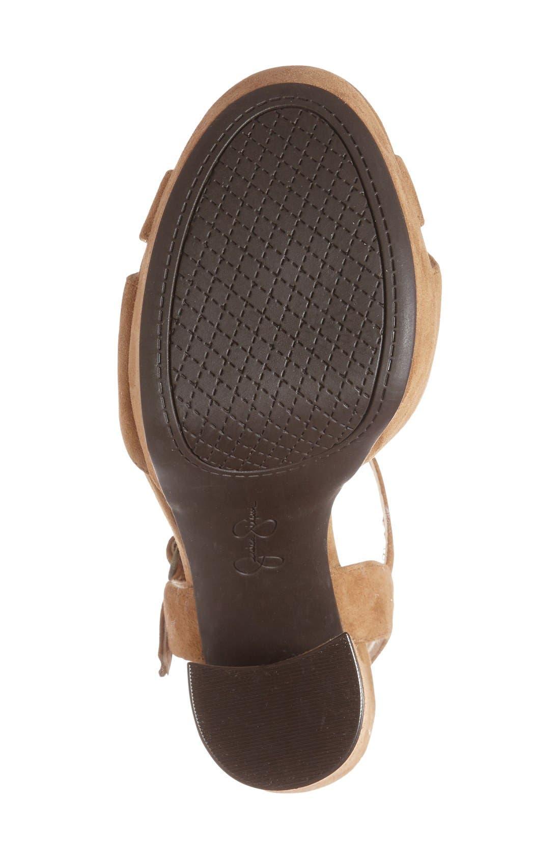 Alternate Image 4  - Jessica Simpson 'Naidine' Platform Sandal (Women)