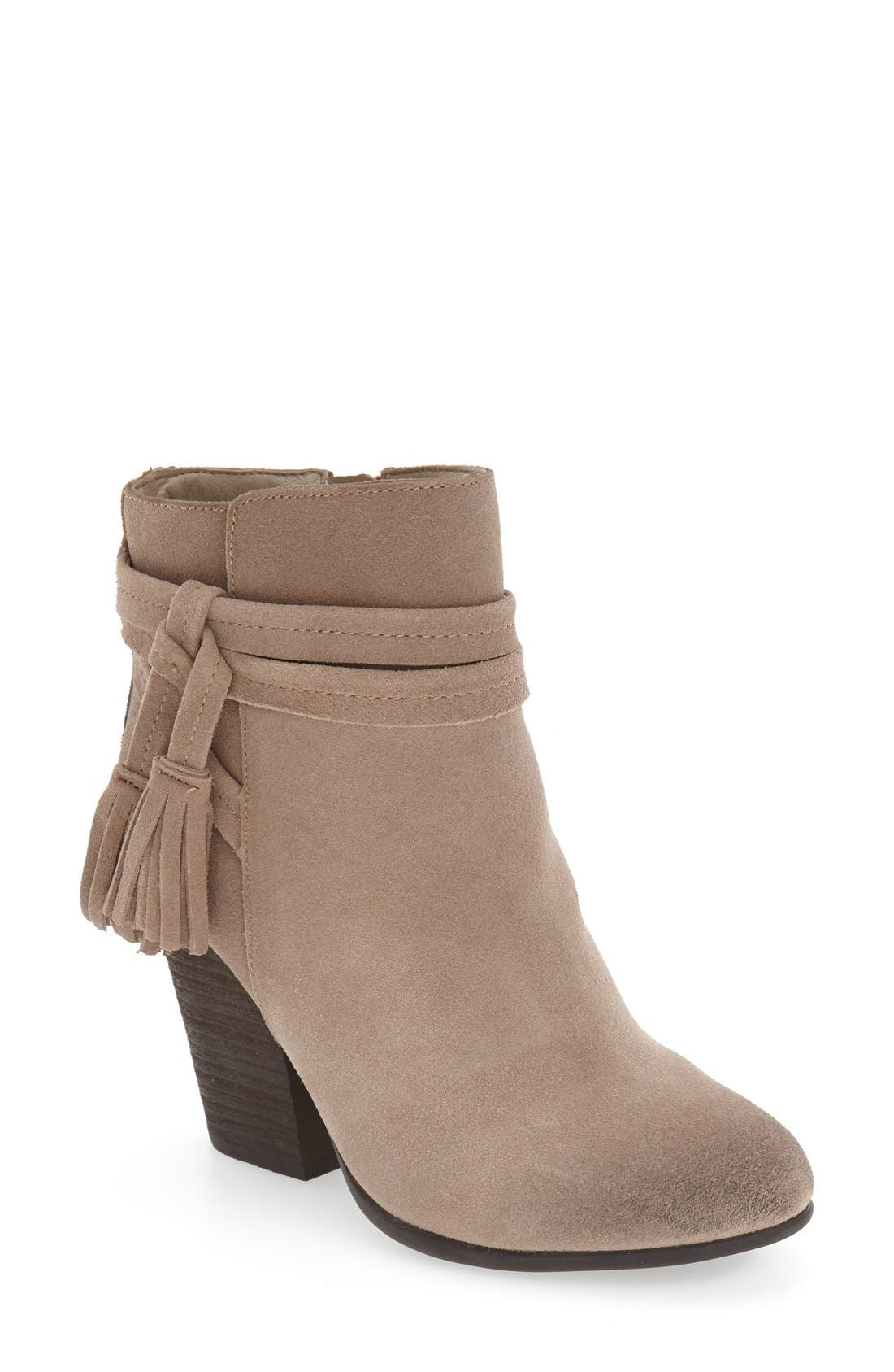 Main Image - Very Volatile 'Enchanted' Tassel Detail Bootie (Women)