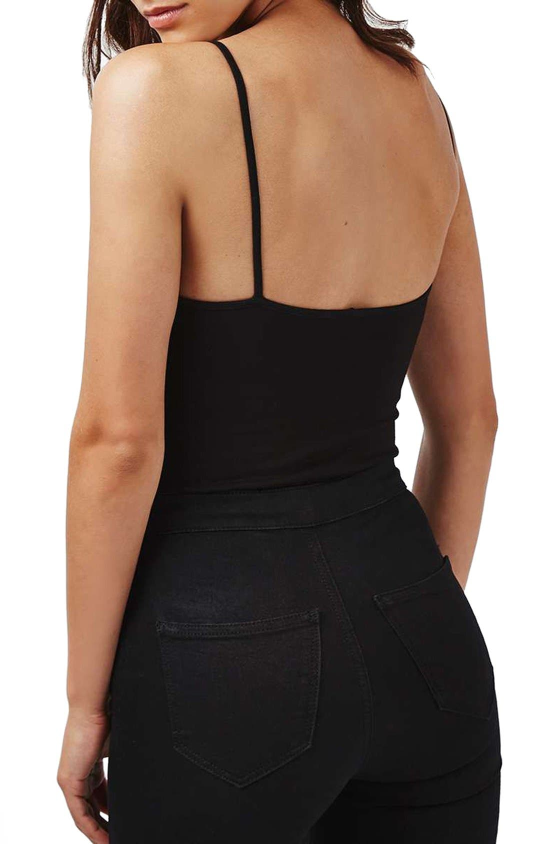 Alternate Image 3  - Topshop Lace Scallop Bodysuit