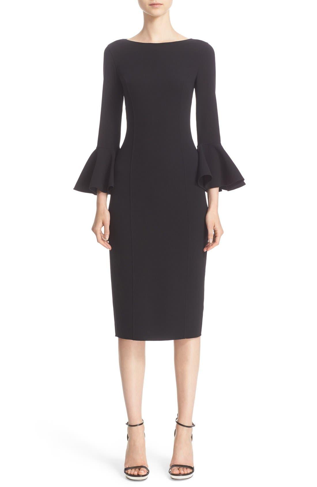 Alternate Image 1  - Michael Kors Bell Sleeve Sheath Dress