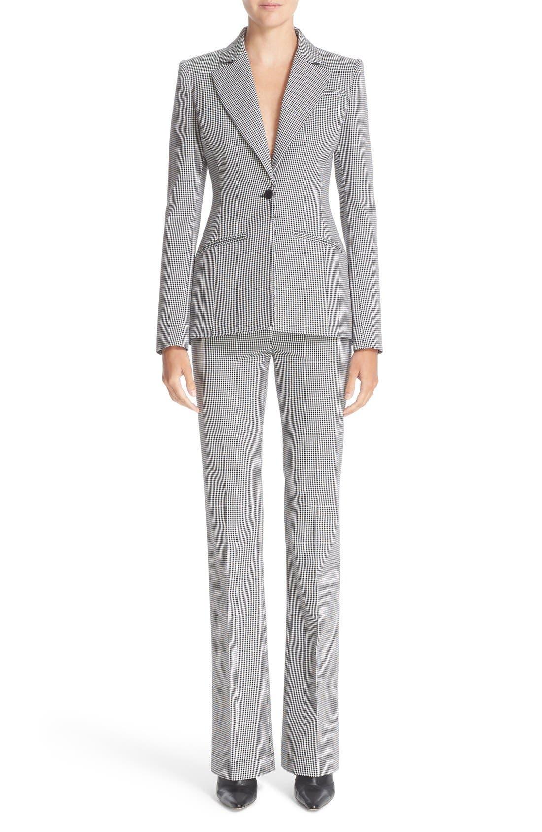 Alternate Image 7  - Altuzarra Acacia Mini Gingham Jacket