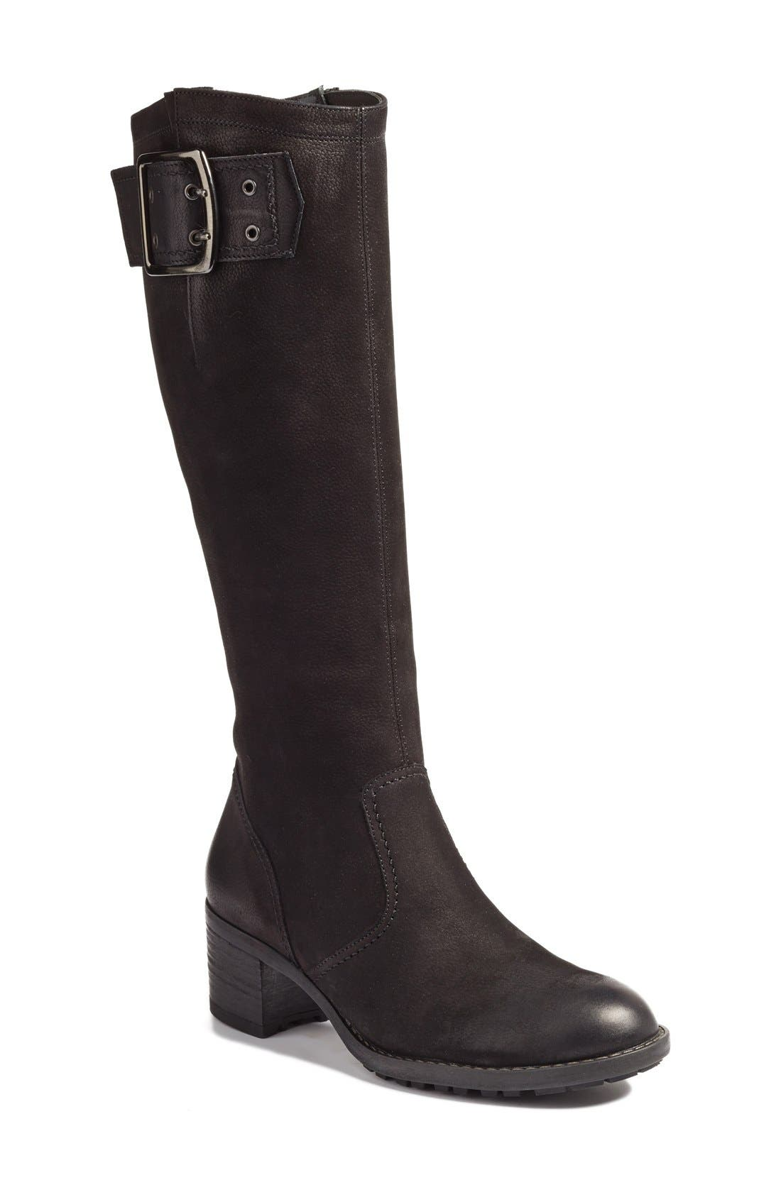 Alternate Image 1 Selected - Paul Green Kendra Knee High Buckle Boot (Women)