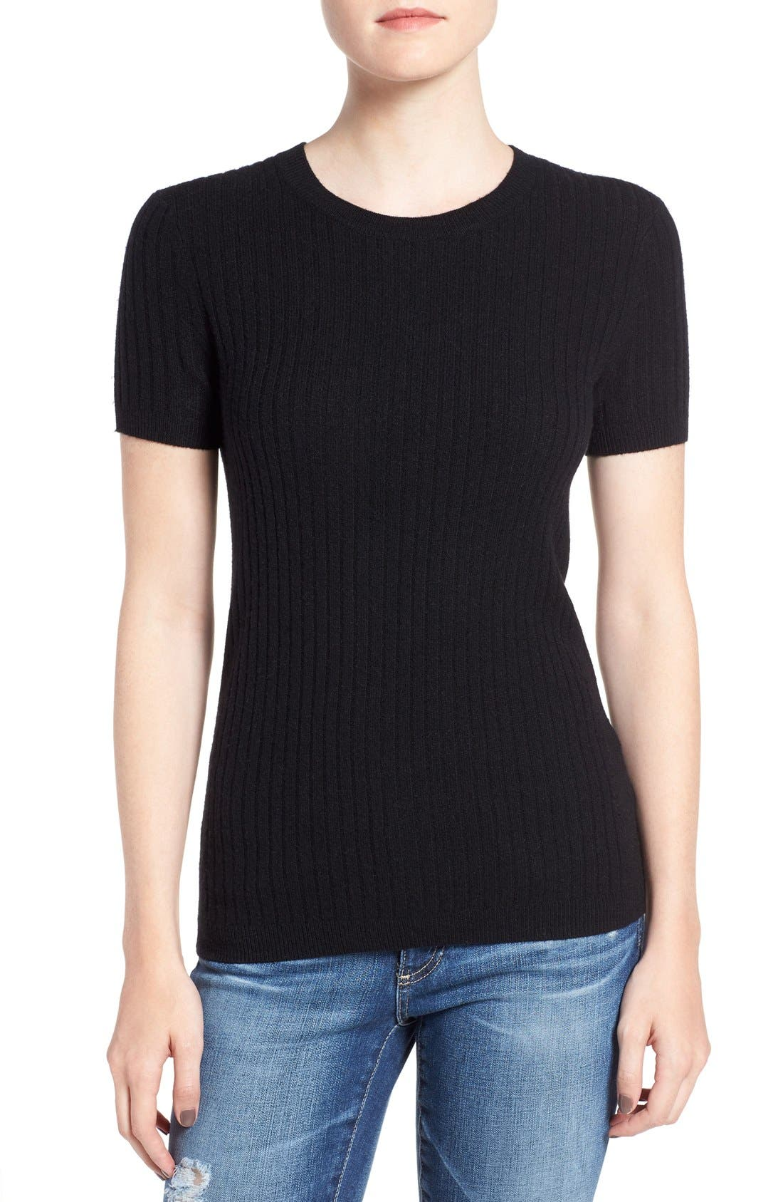 AG Fallon Merino Wool & Cashmere Sweater