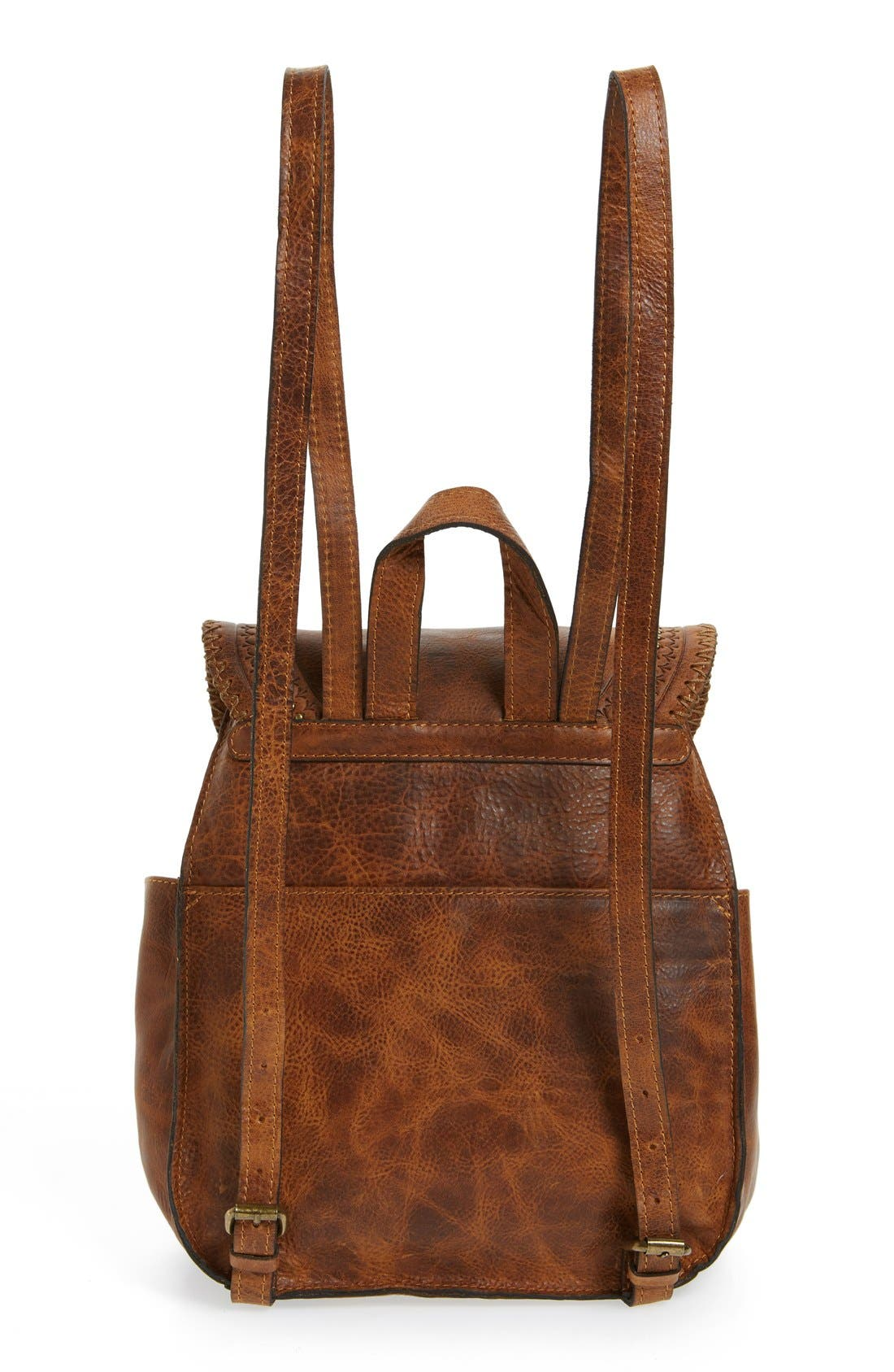 Alternate Image 3  - Patricia Nash 'Jovanna' Tassel Studded Leather Backpack
