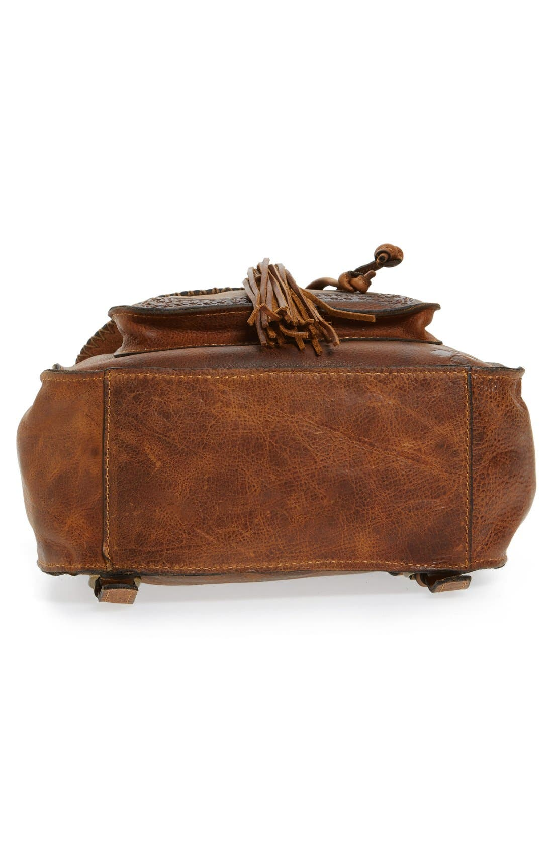 Alternate Image 6  - Patricia Nash 'Jovanna' Tassel Studded Leather Backpack