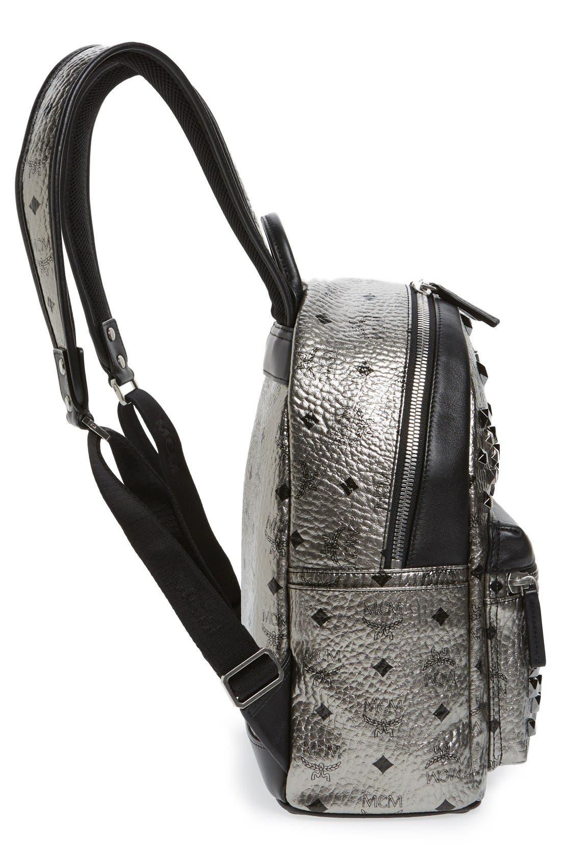 Alternate Image 5  - MCM 'Small Stark' Studded Backpack