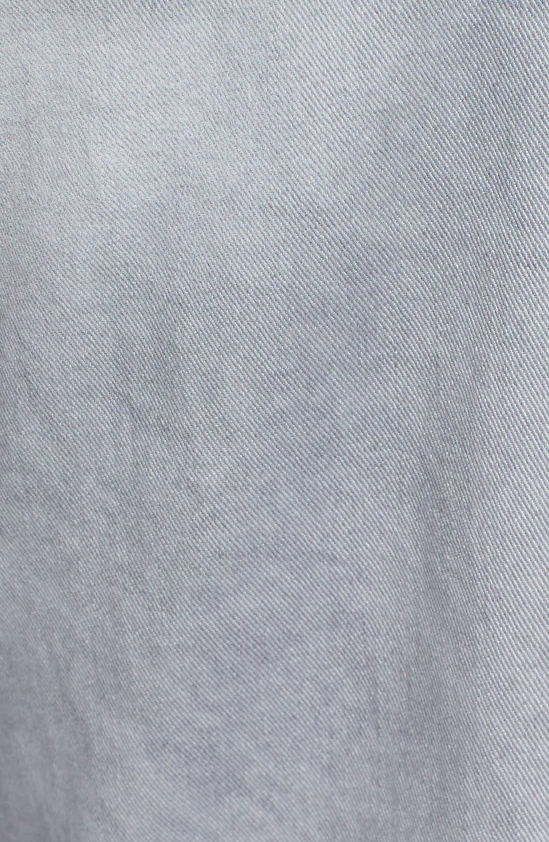 Alternate Image 5  - Hudson Jeans Byron Slim Straight Leg Jeans (Militia Grey)