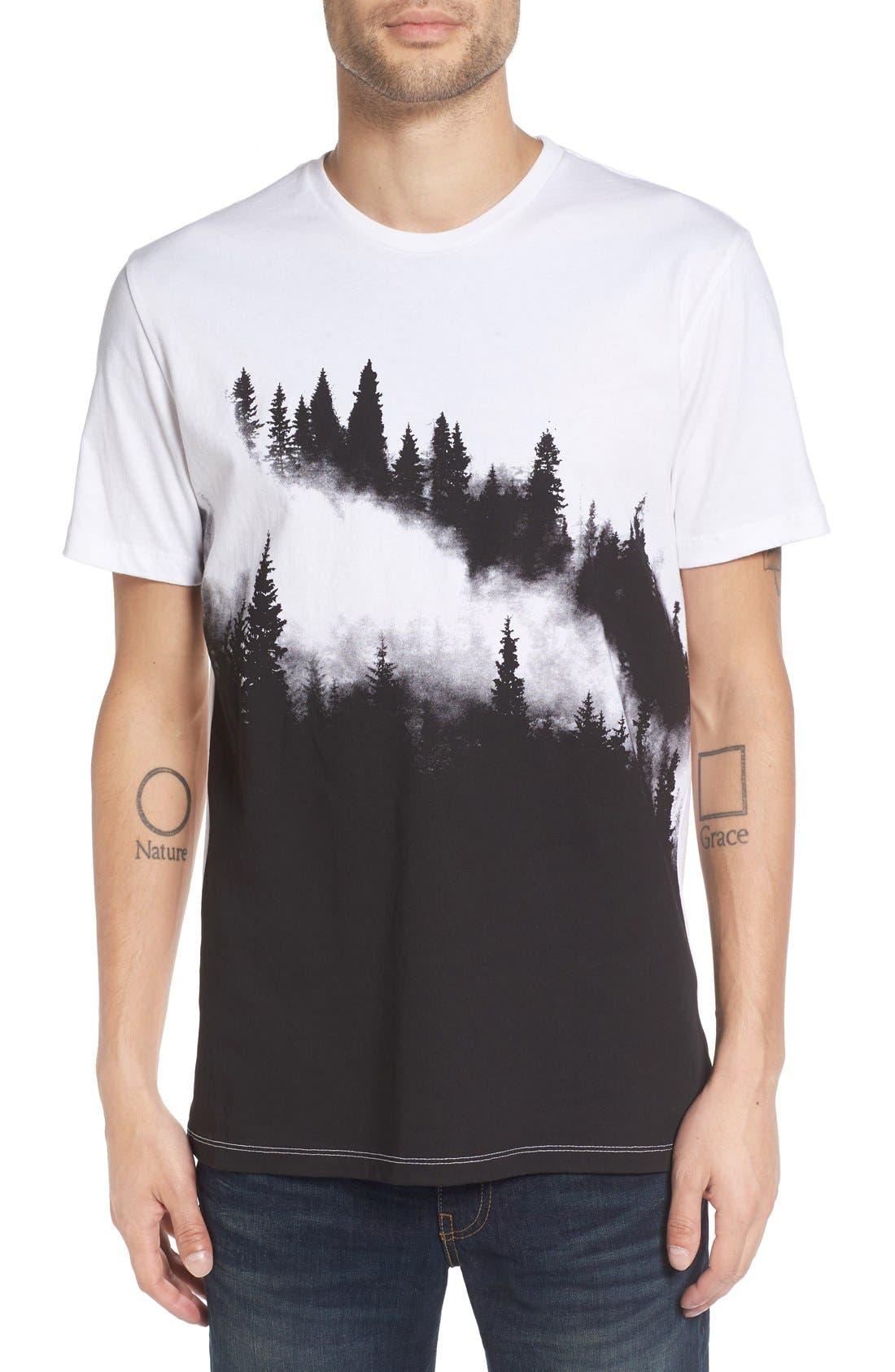 Altru 'Foggy Pines' T-Shirt