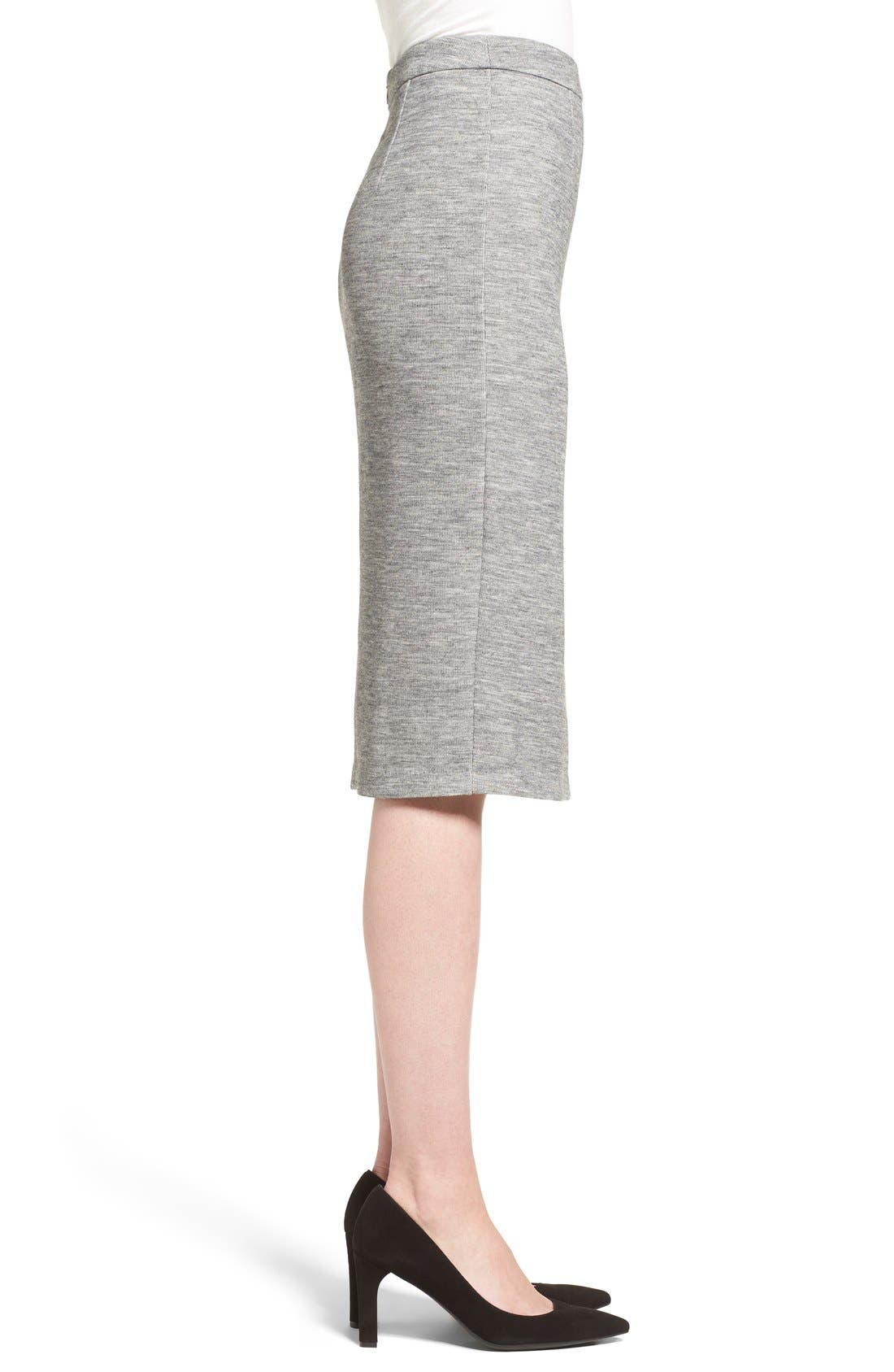 Alternate Image 4  - Halogen® Side Zip Pencil Skirt (Regular & Petite)