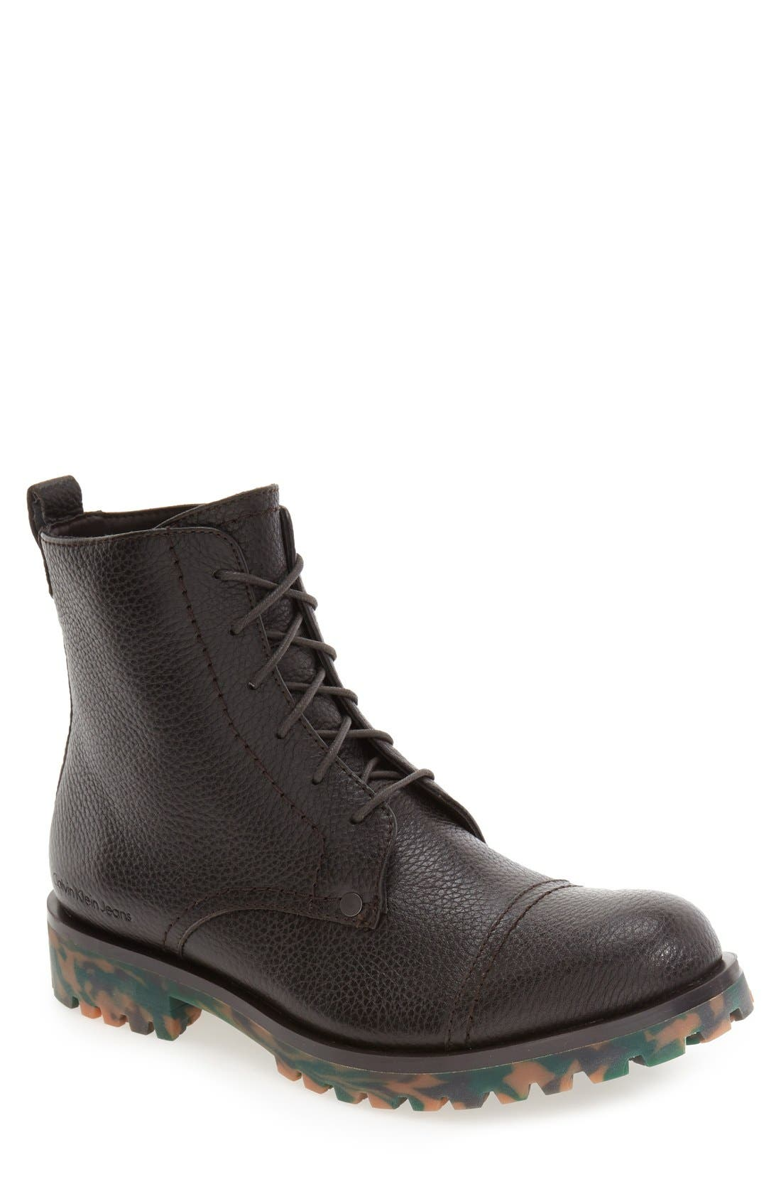 Calvin Klein Jeans 'Nex' Cap Toe Boot (Men)
