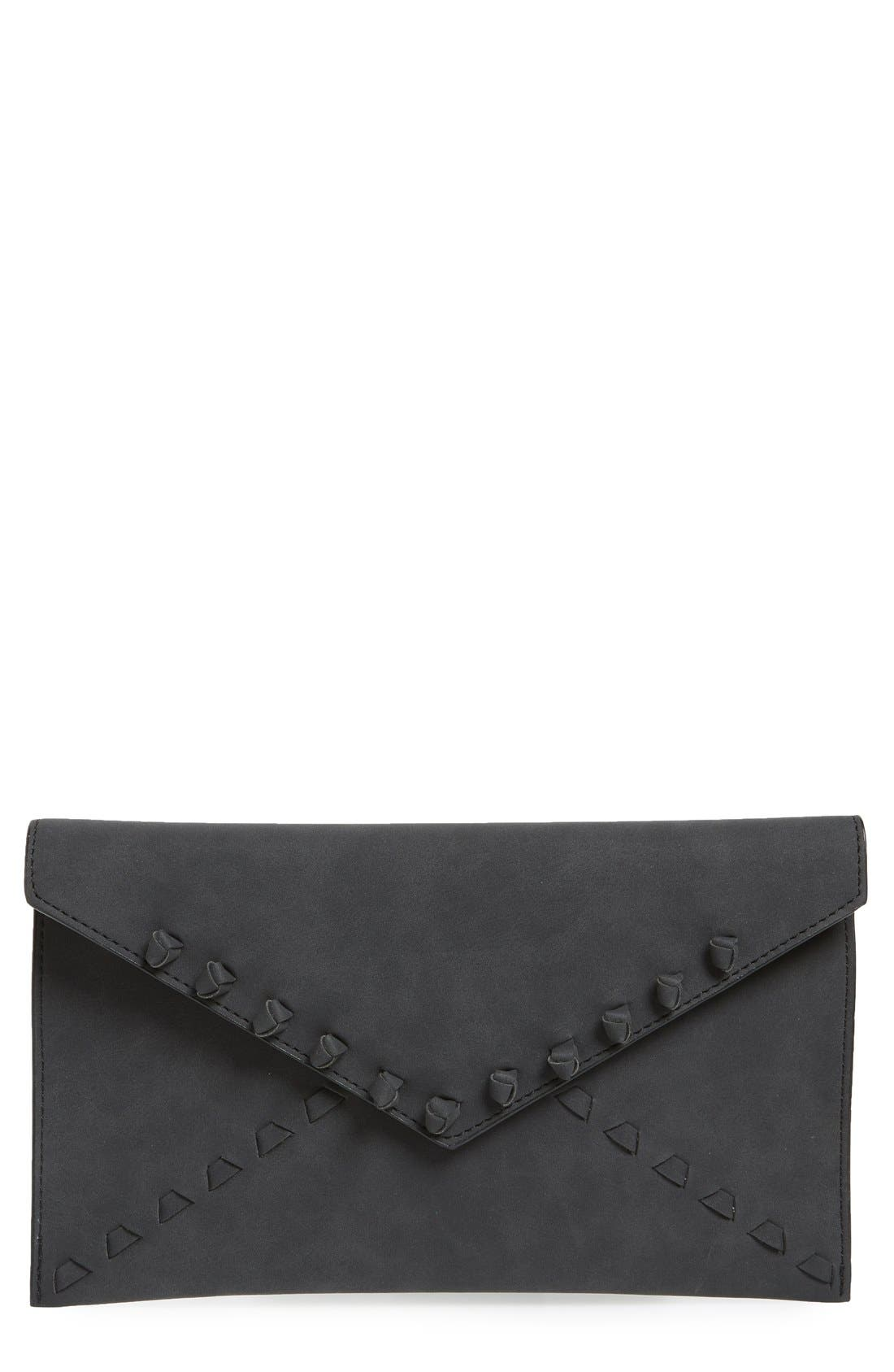 Alternate Image 1 Selected - Danielle Nicole 'Tina' Faux Leather Envelope Clutch