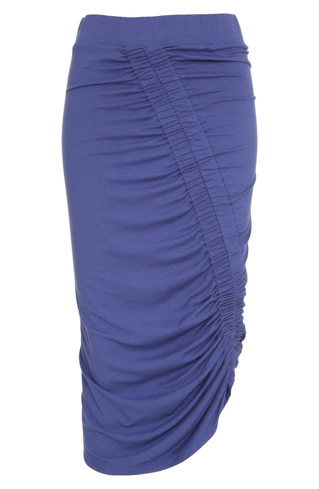 Alternate Image 4  - Zero + Maria Cornejo 'Kia' Ruched Sim Jersey Skirt