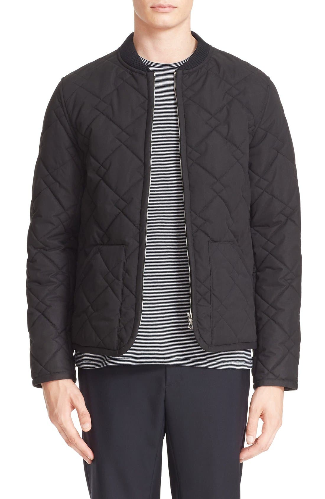 A.P.C. Ontario Blouson Quilted Jacket