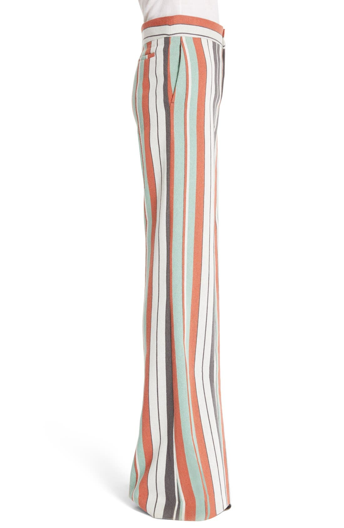 Alternate Image 3  - Chloé Mixed Stripe Wide Leg Pants
