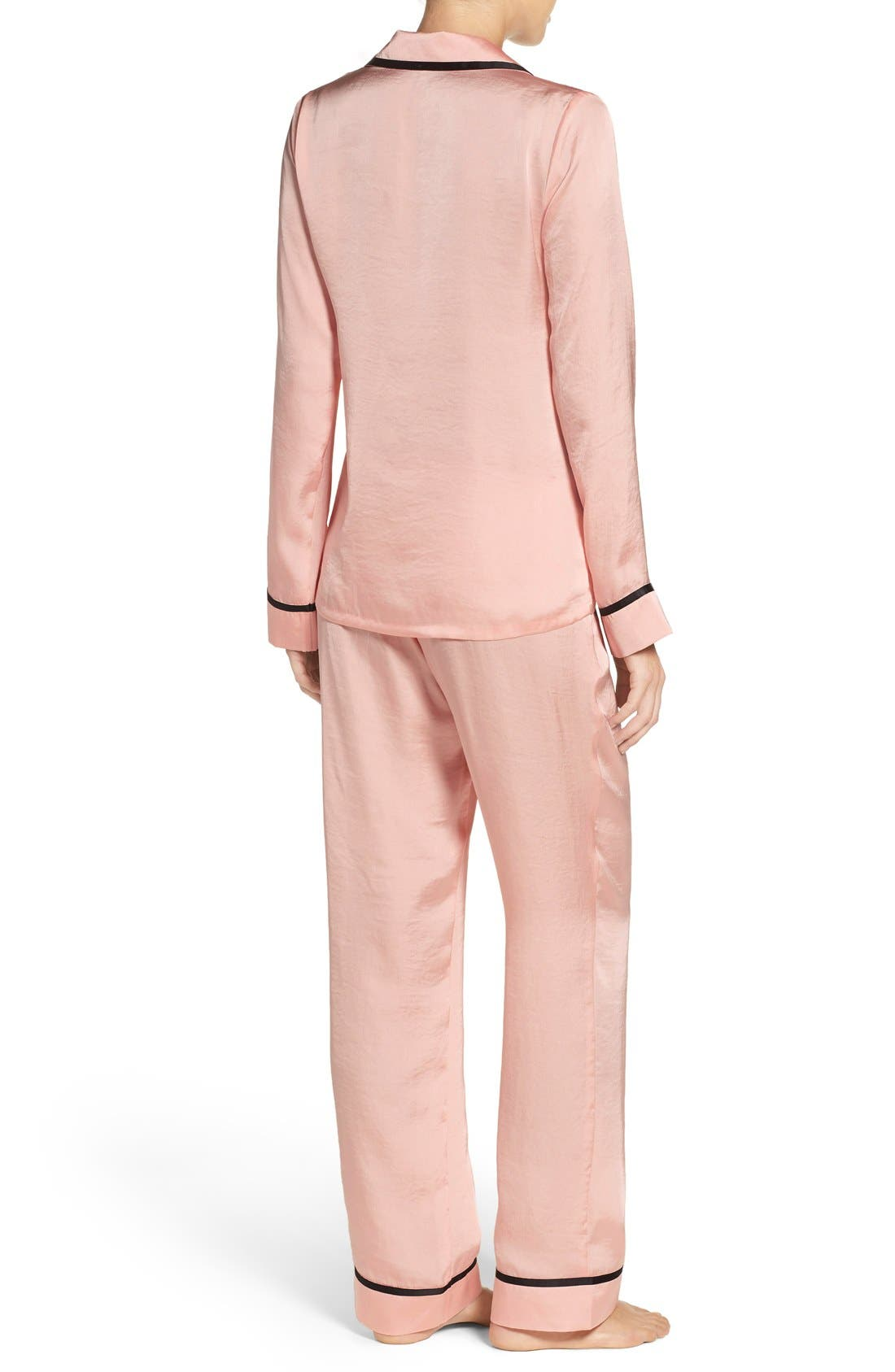 Alternate Image 2  - Chelsea28 Notch Collar Pajamas