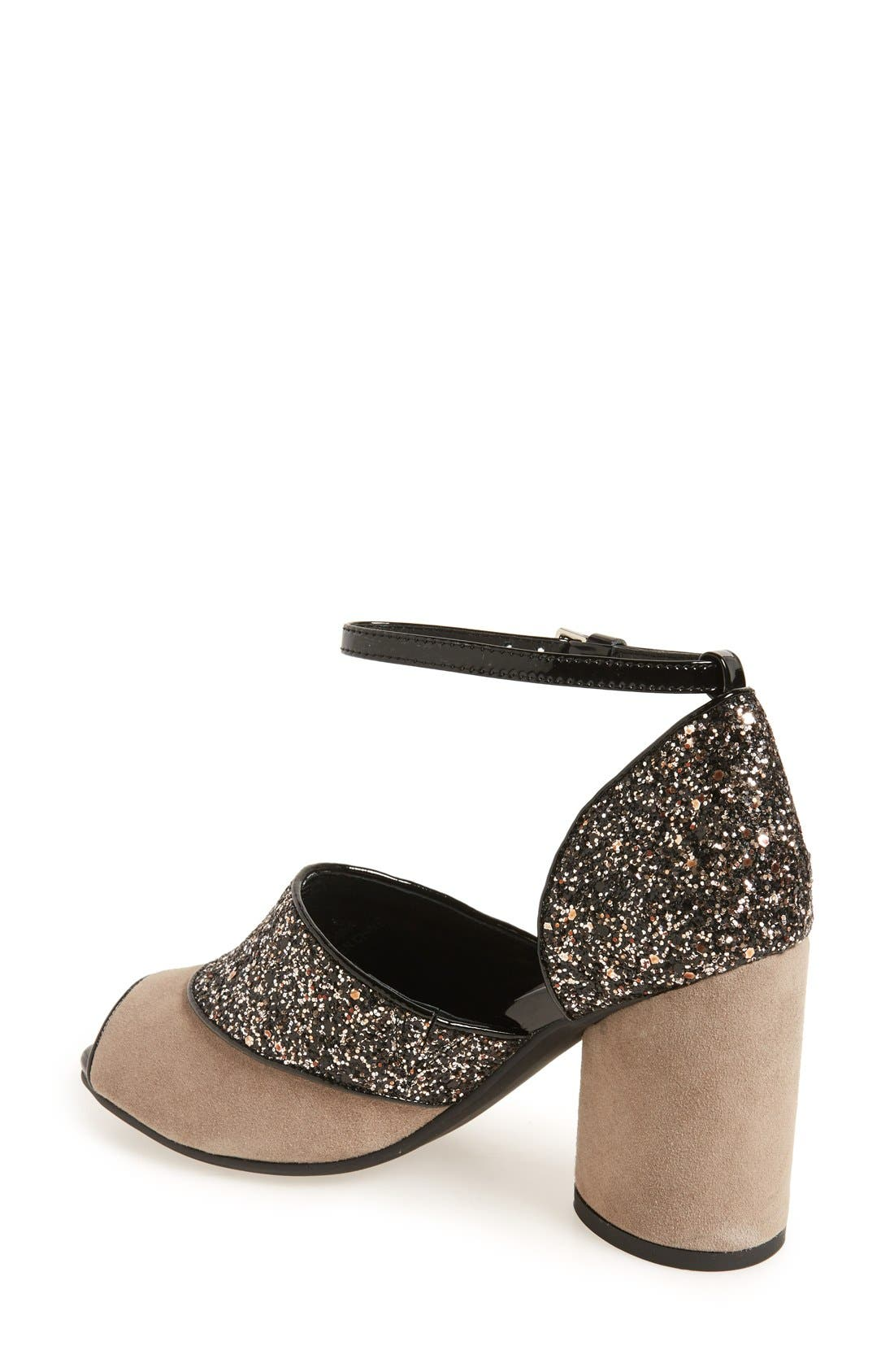 Alternate Image 2  - Jeffrey Campbell 'Bibana' Glitter Sandal (Women)