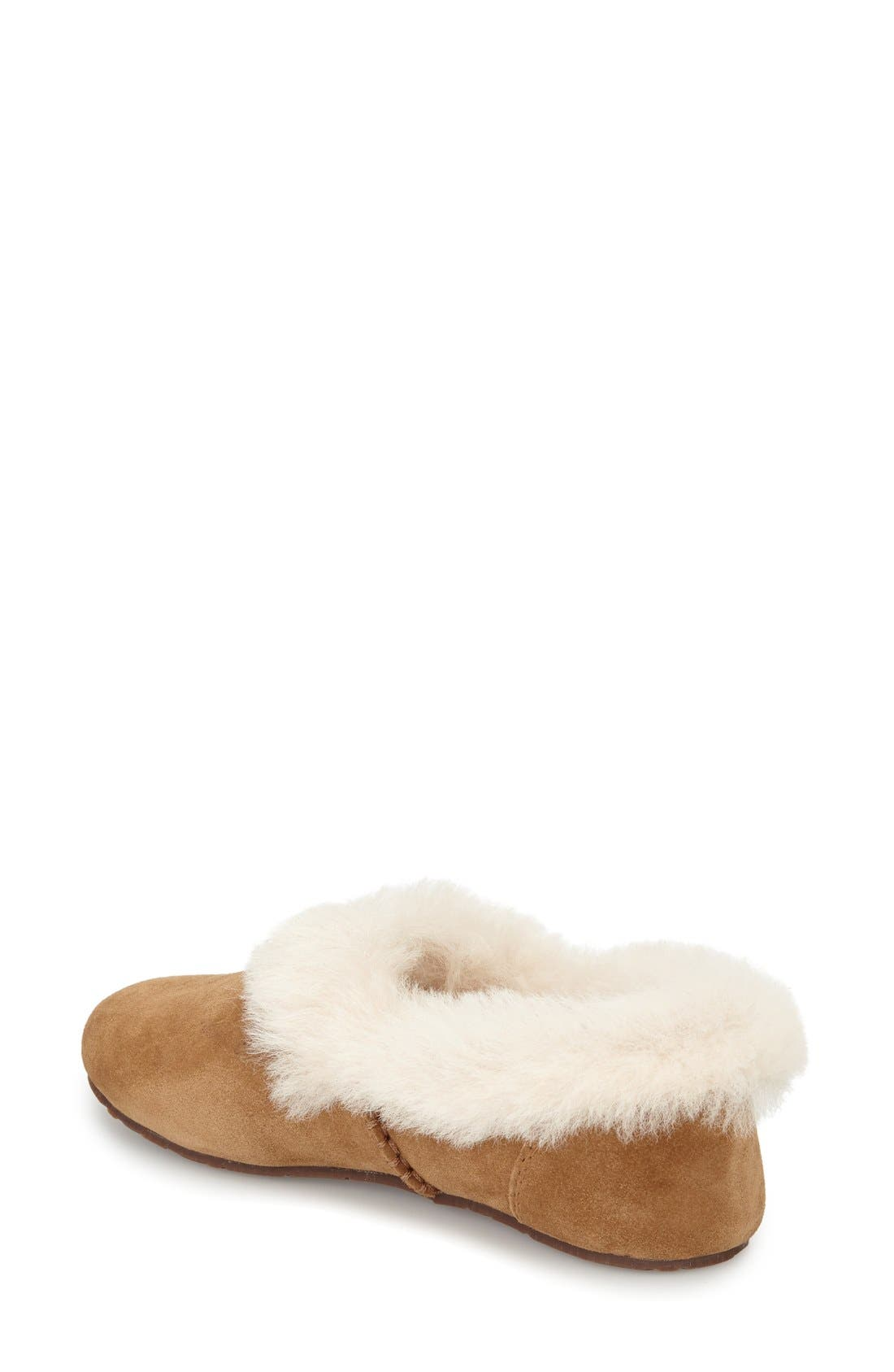 Alternate Image 3  - UGG® Kendyl Genuine Shearling Slipper (Women)