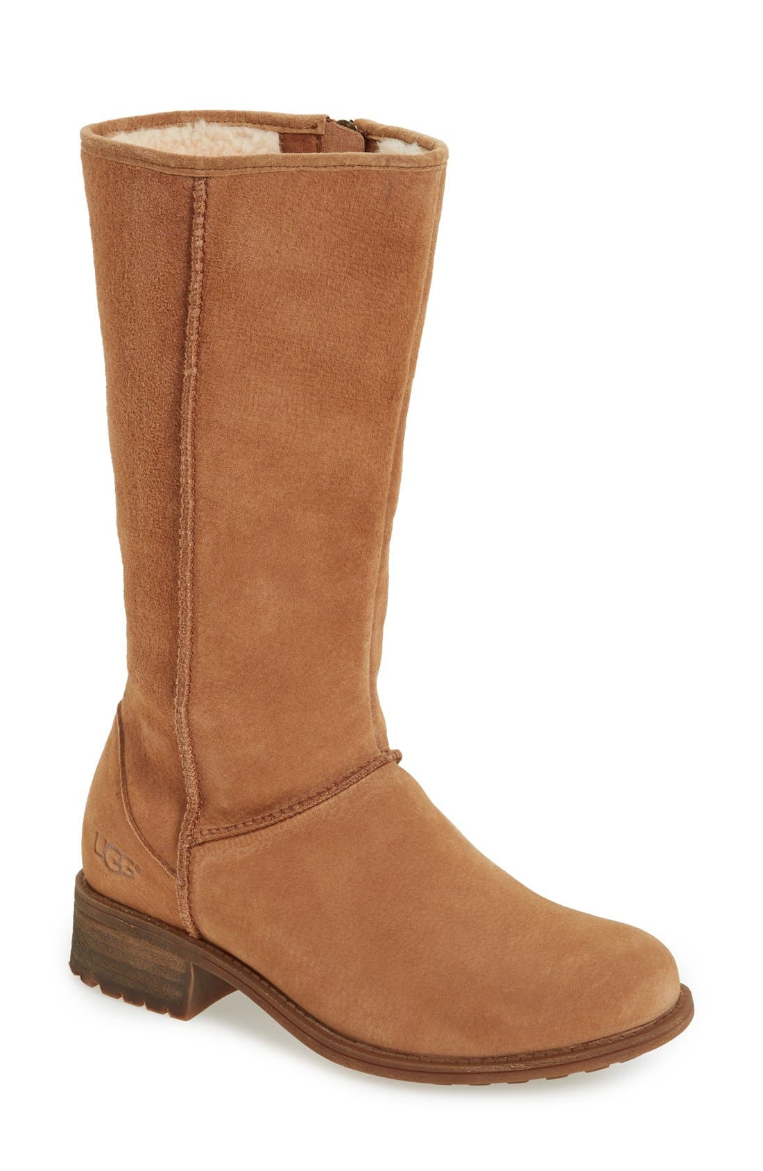 Alternate Image 1 Selected - UGG® Linford Boot (Women) (Wide Calf)