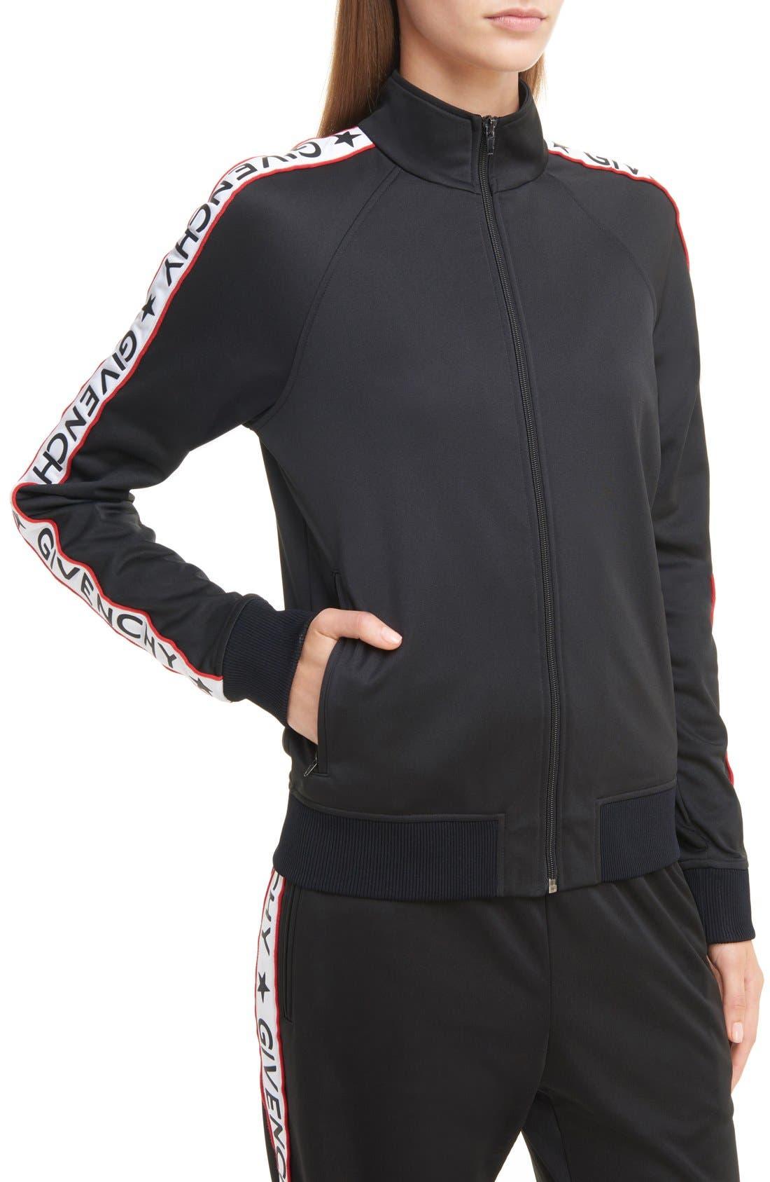 Alternate Image 1 Selected - Givenchy Logo Track Jacket