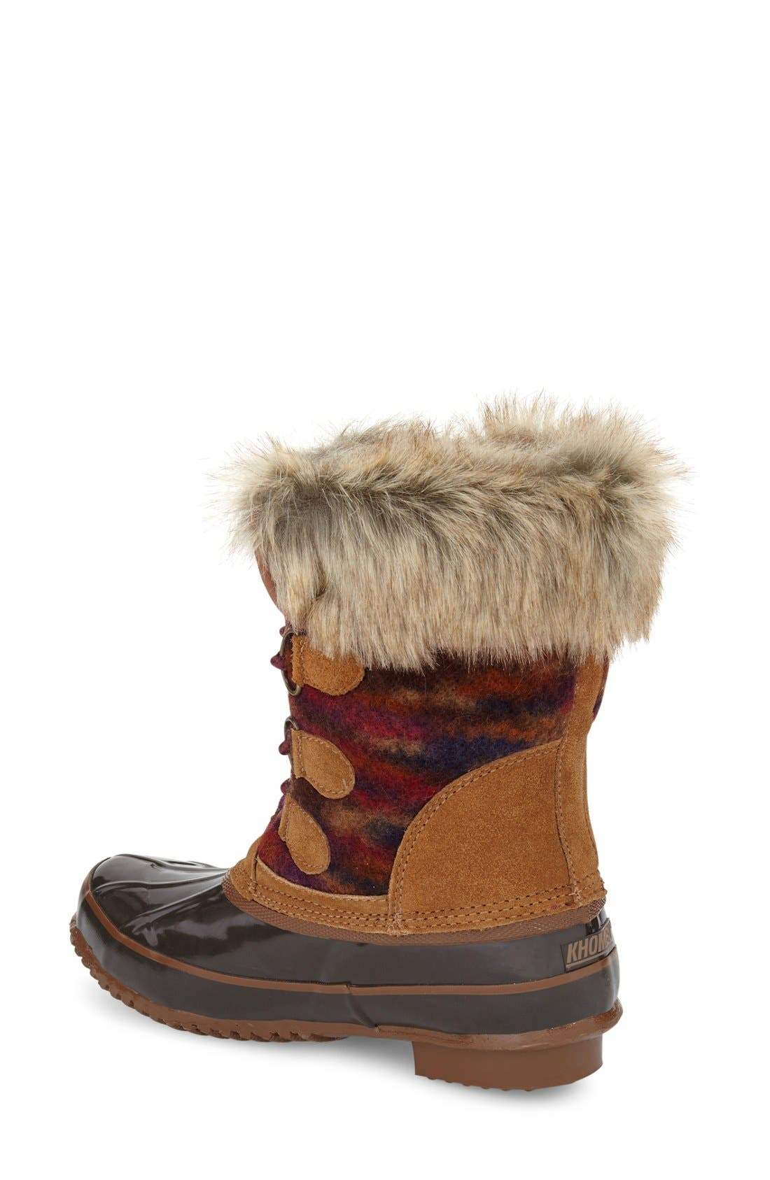 Alternate Image 2  - Khombu Lace-Up Winter Boot (Women)