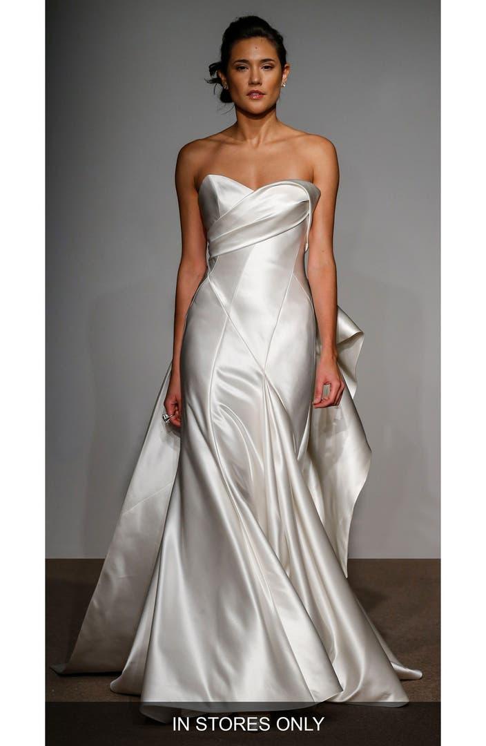 Wedding dresses nordstrom for Satin silk wedding dresses