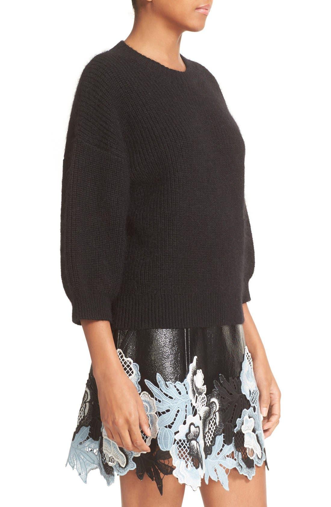 Alternate Image 4  - 3.1 Phillip Lim Rib Knit Wool Blend Sweater