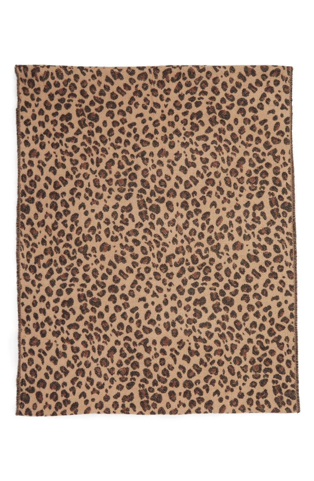 Alternate Image 3  - BP. Leopard Pattern Infinity Scarf