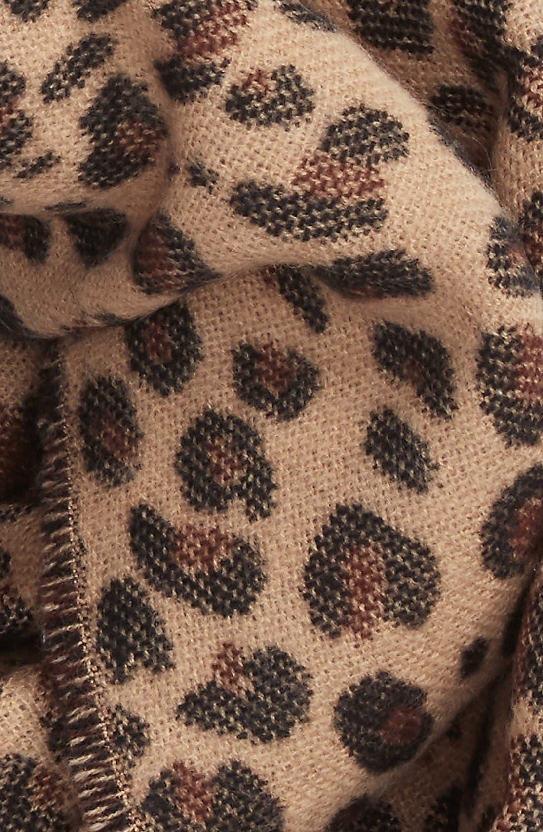Alternate Image 4  - BP. Leopard Pattern Infinity Scarf
