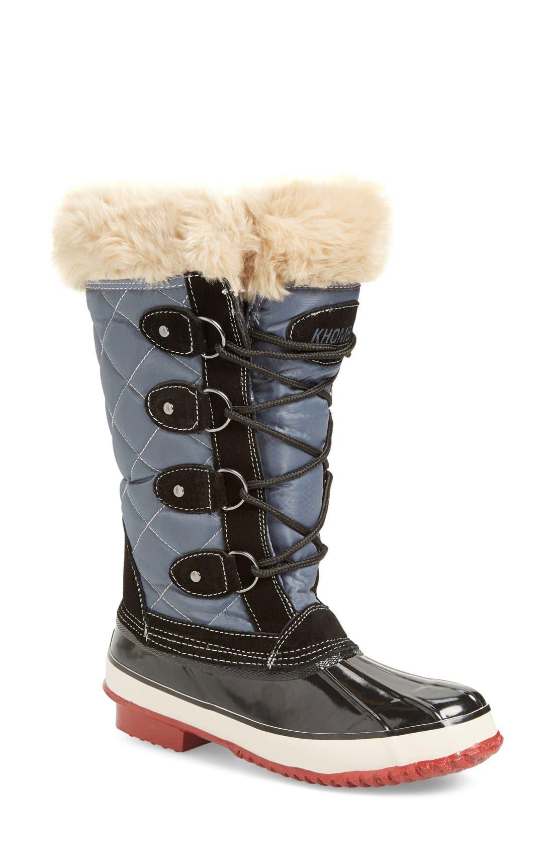 Alternate Image 1 Selected - Khombu Andie Waterproof Boot (Women)