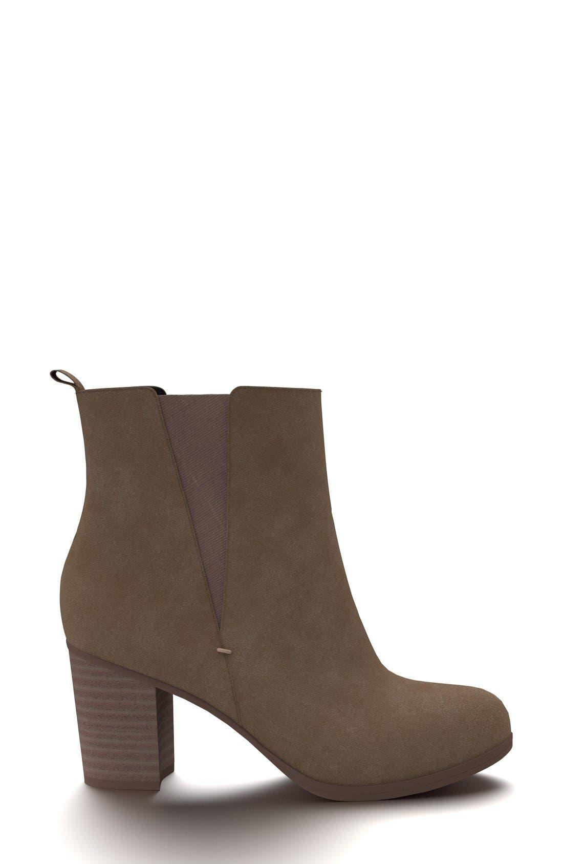Alternate Image 2  - Shoes of Prey Block Heel Chelsea Boot (Women)