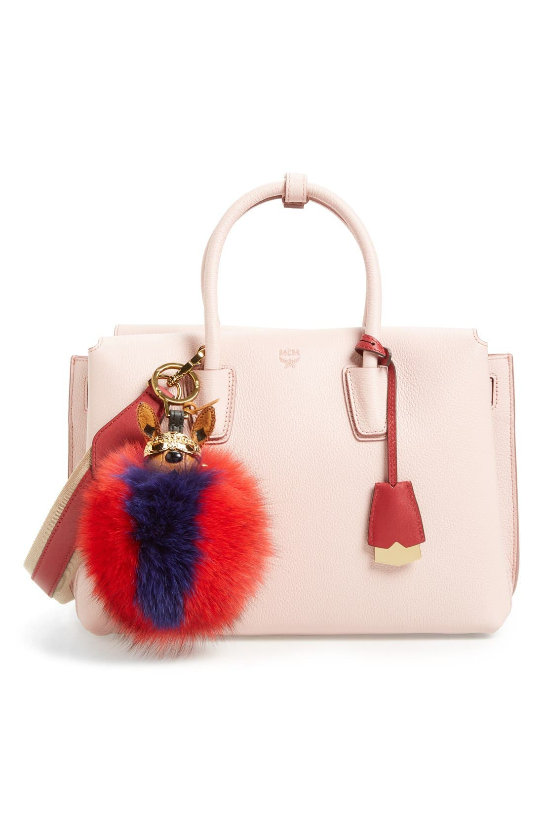 Alternate Image 2  - MCM 'Rabbit' Genuine Fox Fur Bag Charm