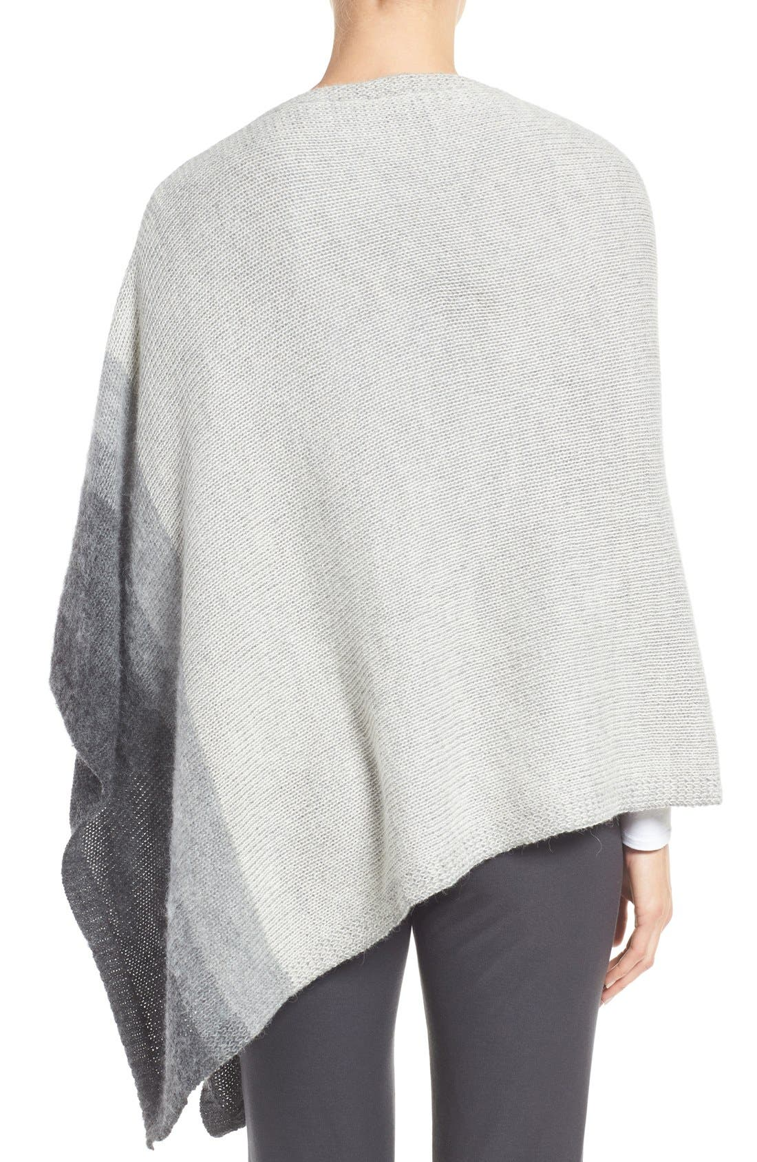 Alternate Image 2  - Eileen Fisher Ombré Alpaca Poncho