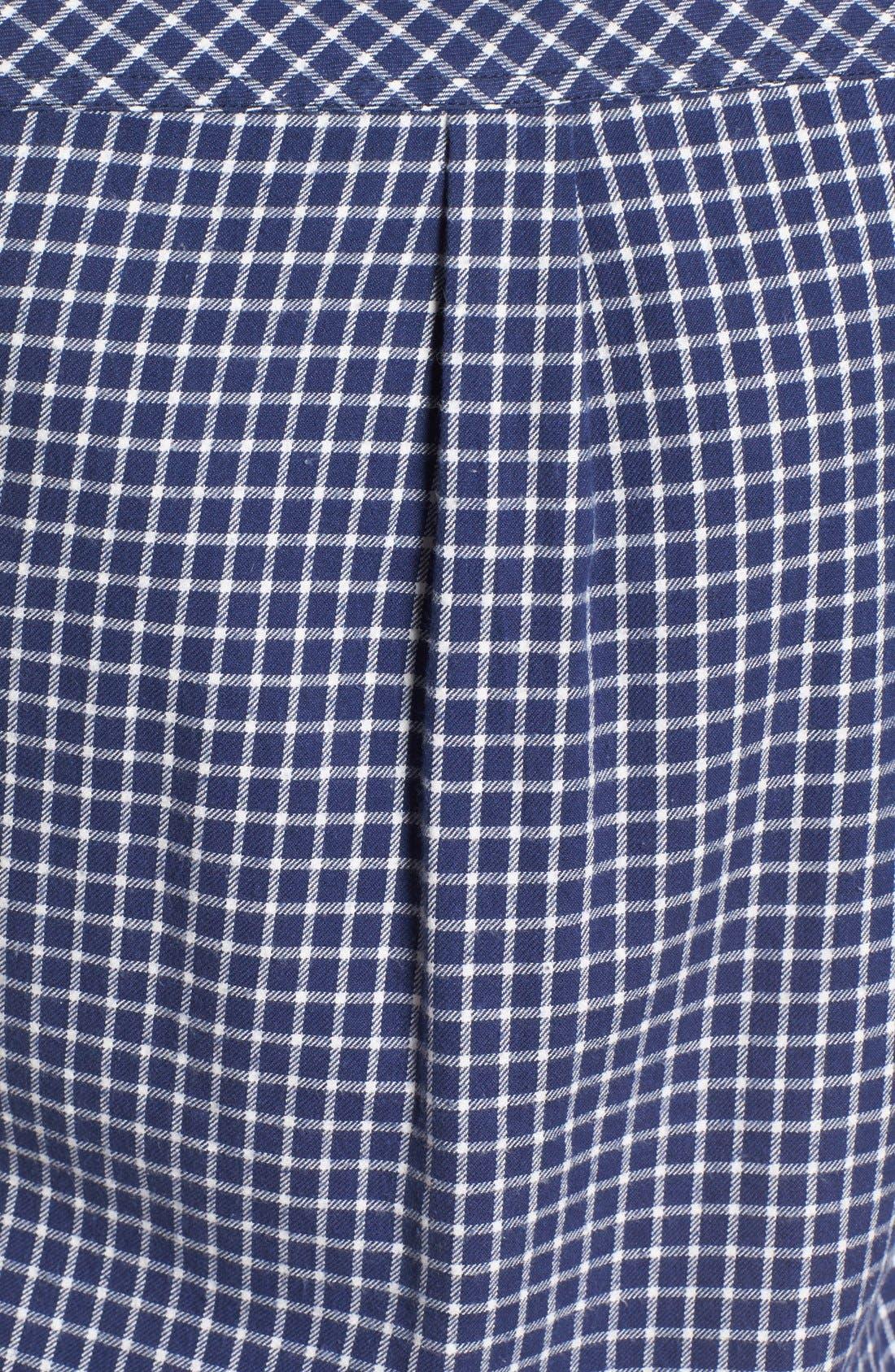 Alternate Image 5  - Roxy Squary Cool Plaid Flannel Shirt
