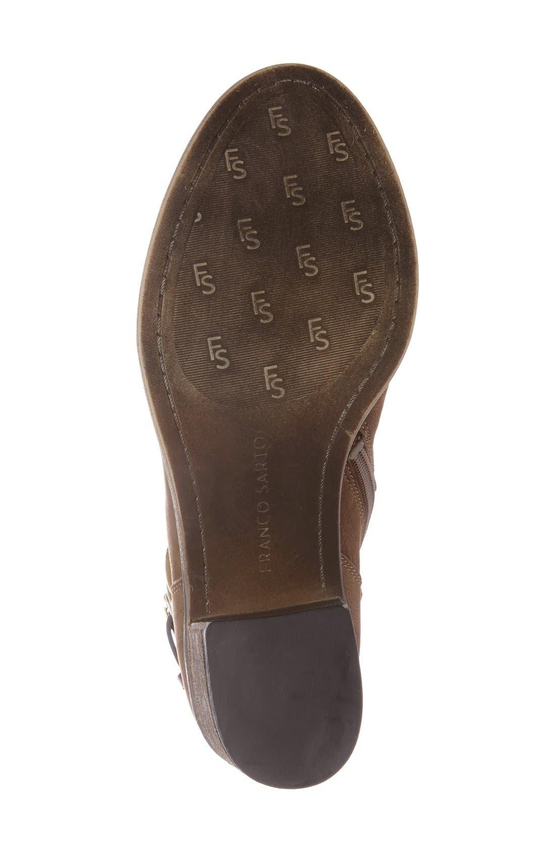 Alternate Image 4  - SARTO by Franco Sarto 'Linden' Block Heel Bootie (Women)
