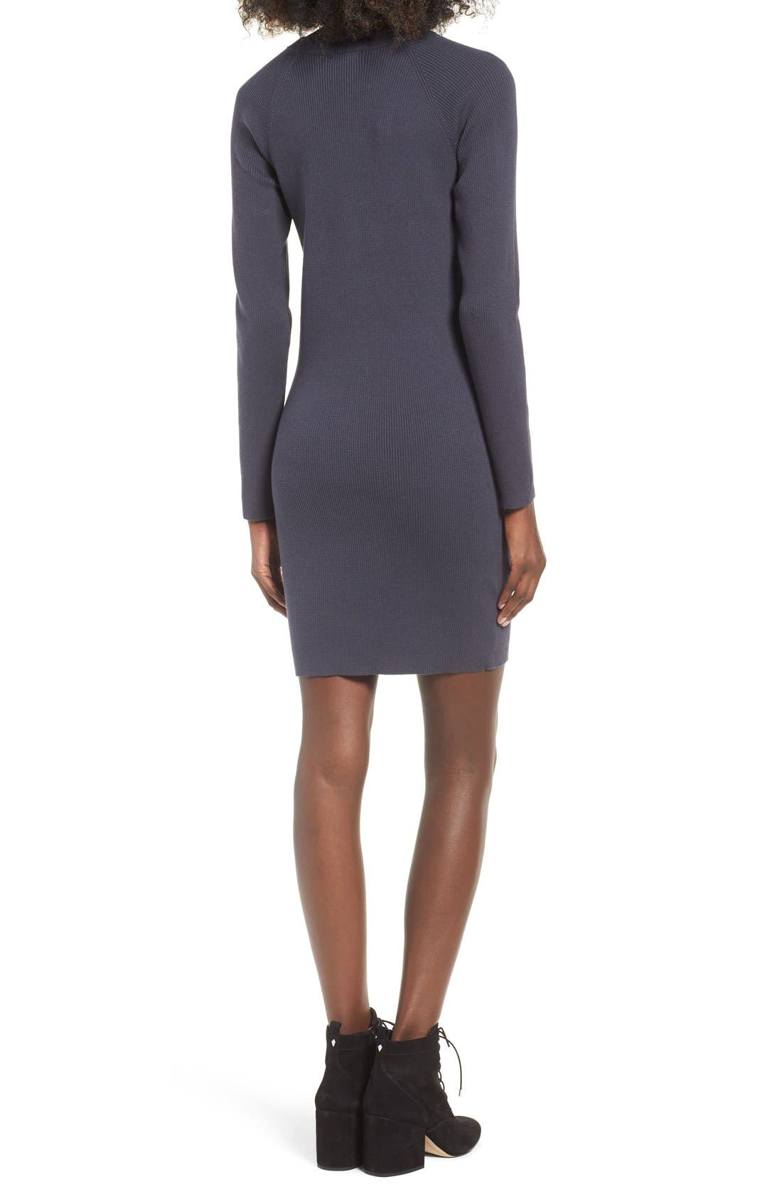 Alternate Image 2  - BP. Cutout Sweater Dress