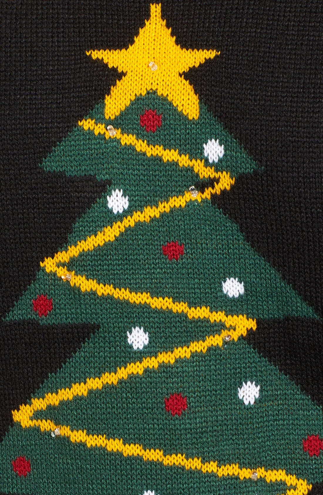 Alternate Image 5  - Love by Design Light-Up Tree Christmas Sweater