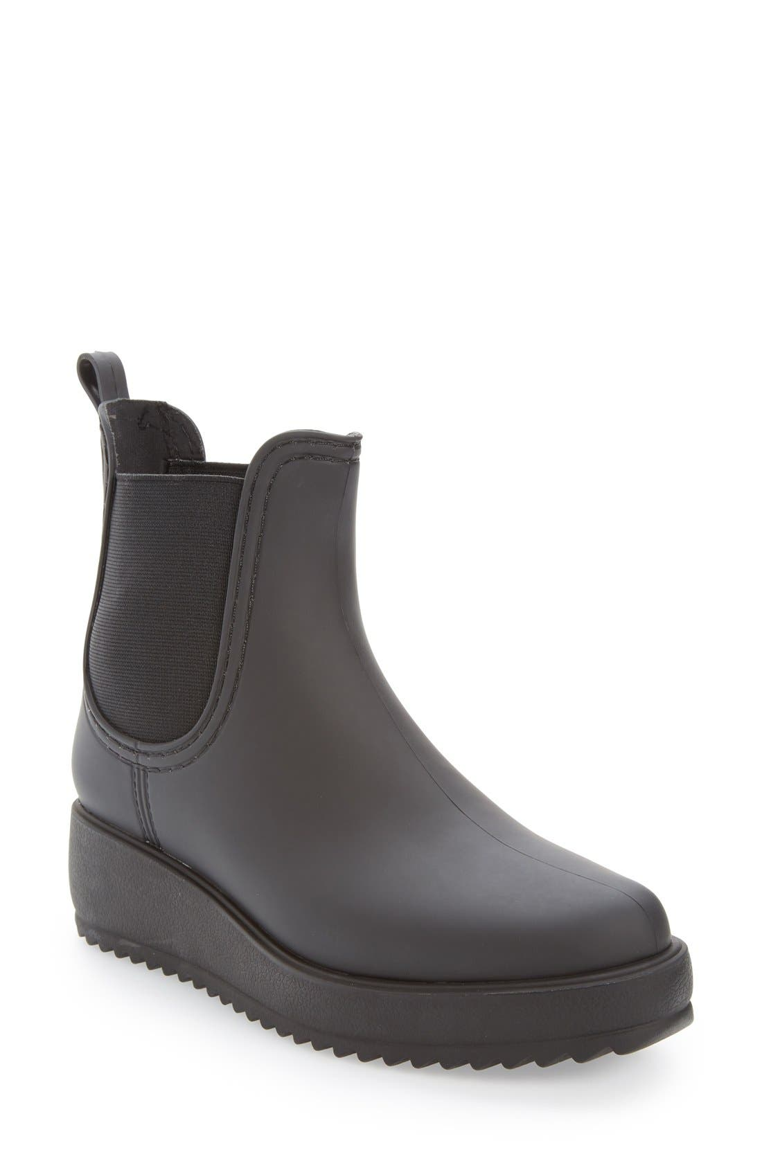 Jeffrey Campbell Hydro Chelsea Platform Rain Boot (Women) | Nordstrom