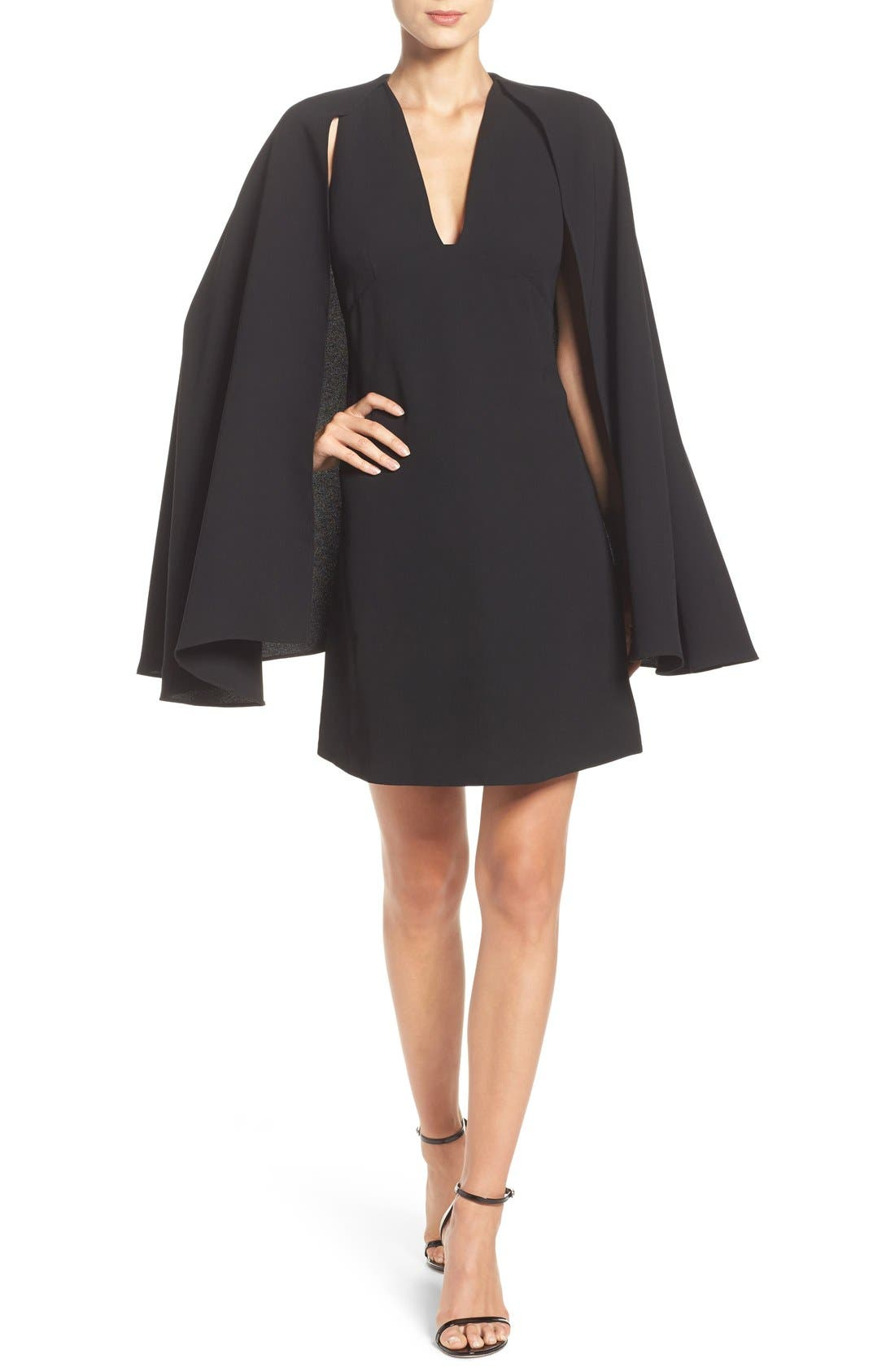 Alternate Image 4  - Olivia Palermo + Chelsea28 Cape Dress