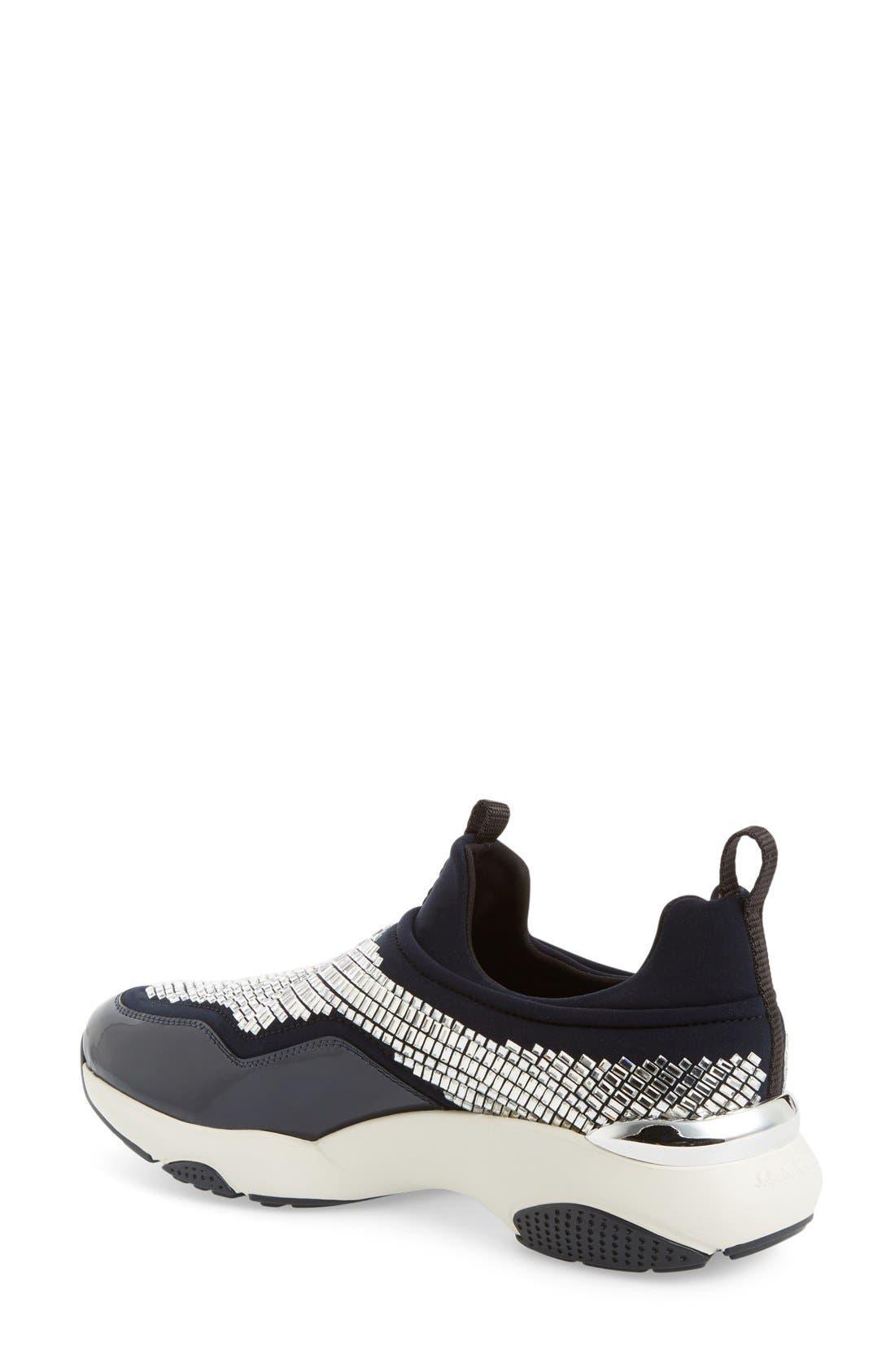 Alternate Image 2  - Salvatore Ferragmo Giolly Slip-On Sneaker (Women)
