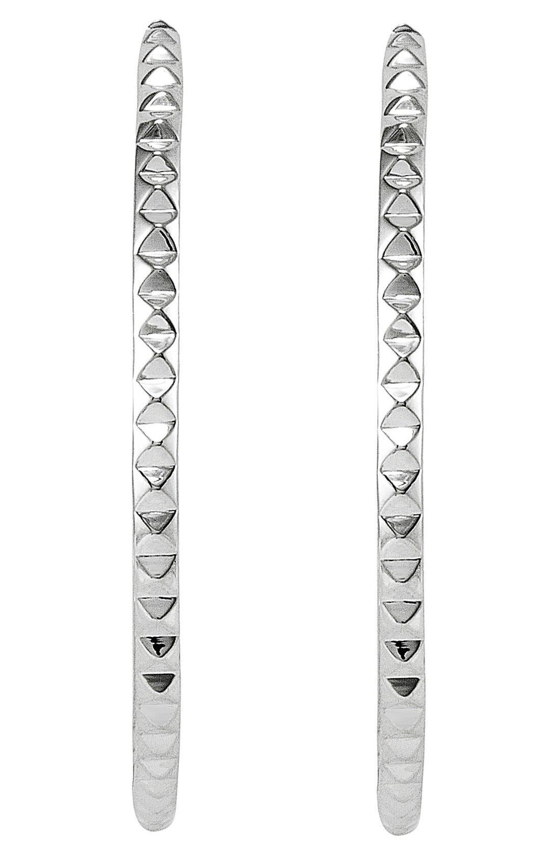 Alternate Image 2  - LAGOS 'Sugarloaf' Hoop Earrings