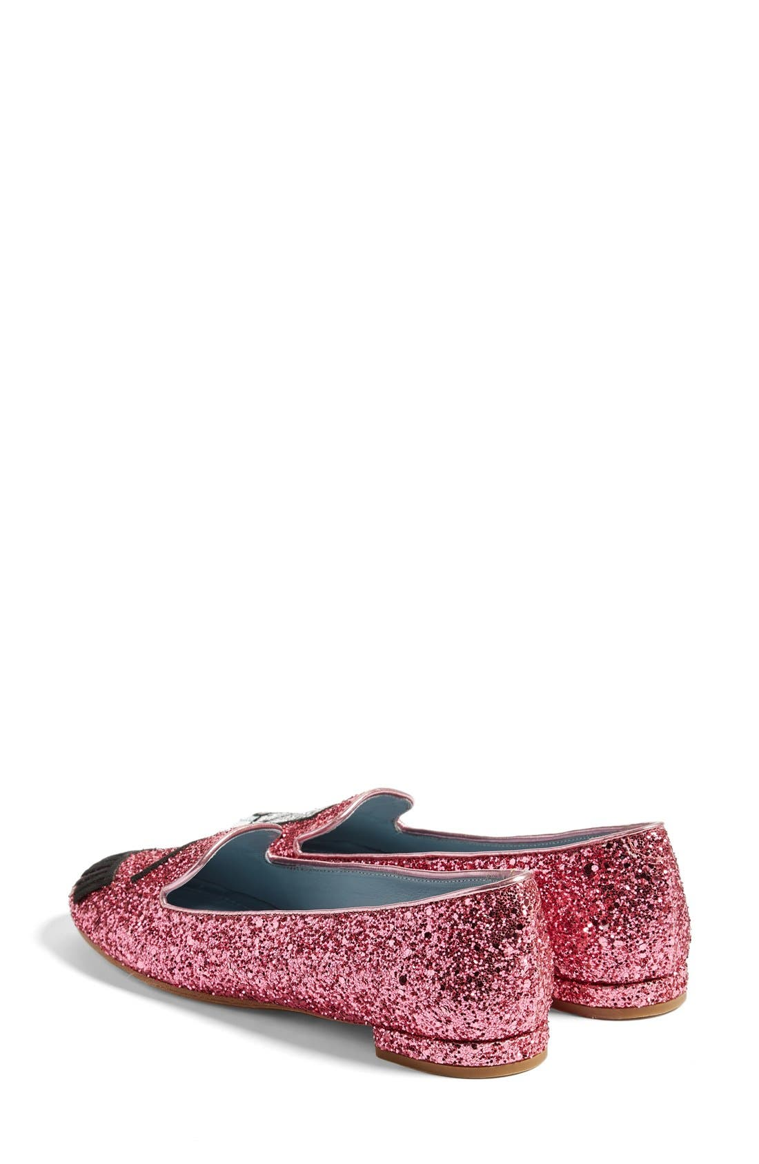 Alternate Image 2  - Chiara Ferragni Flirting Top Hat Flat (Women)