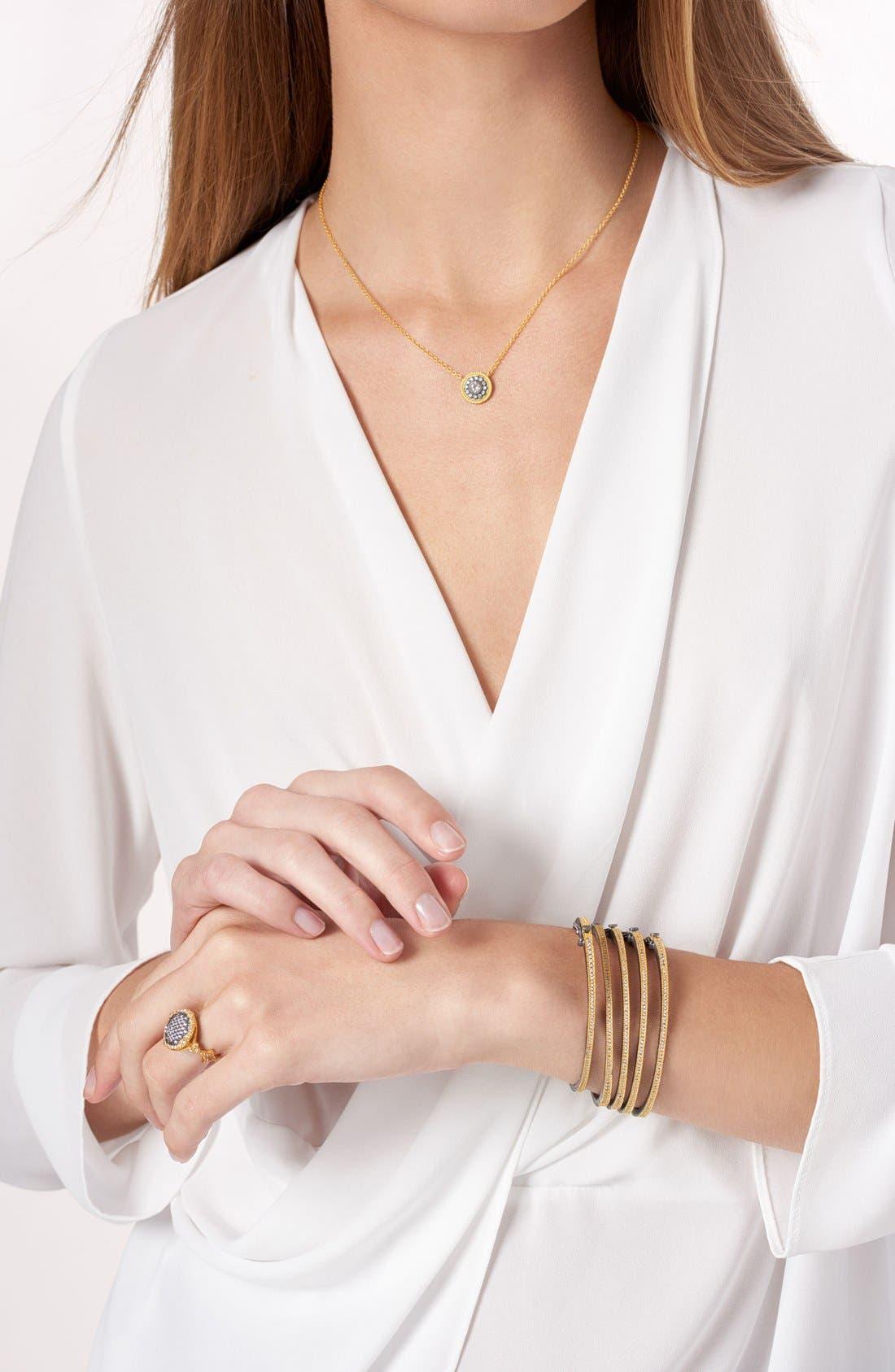 Alternate Image 3  - FREIDA ROTHMAN 'Hamptons' Nautical Button Pendant Necklace