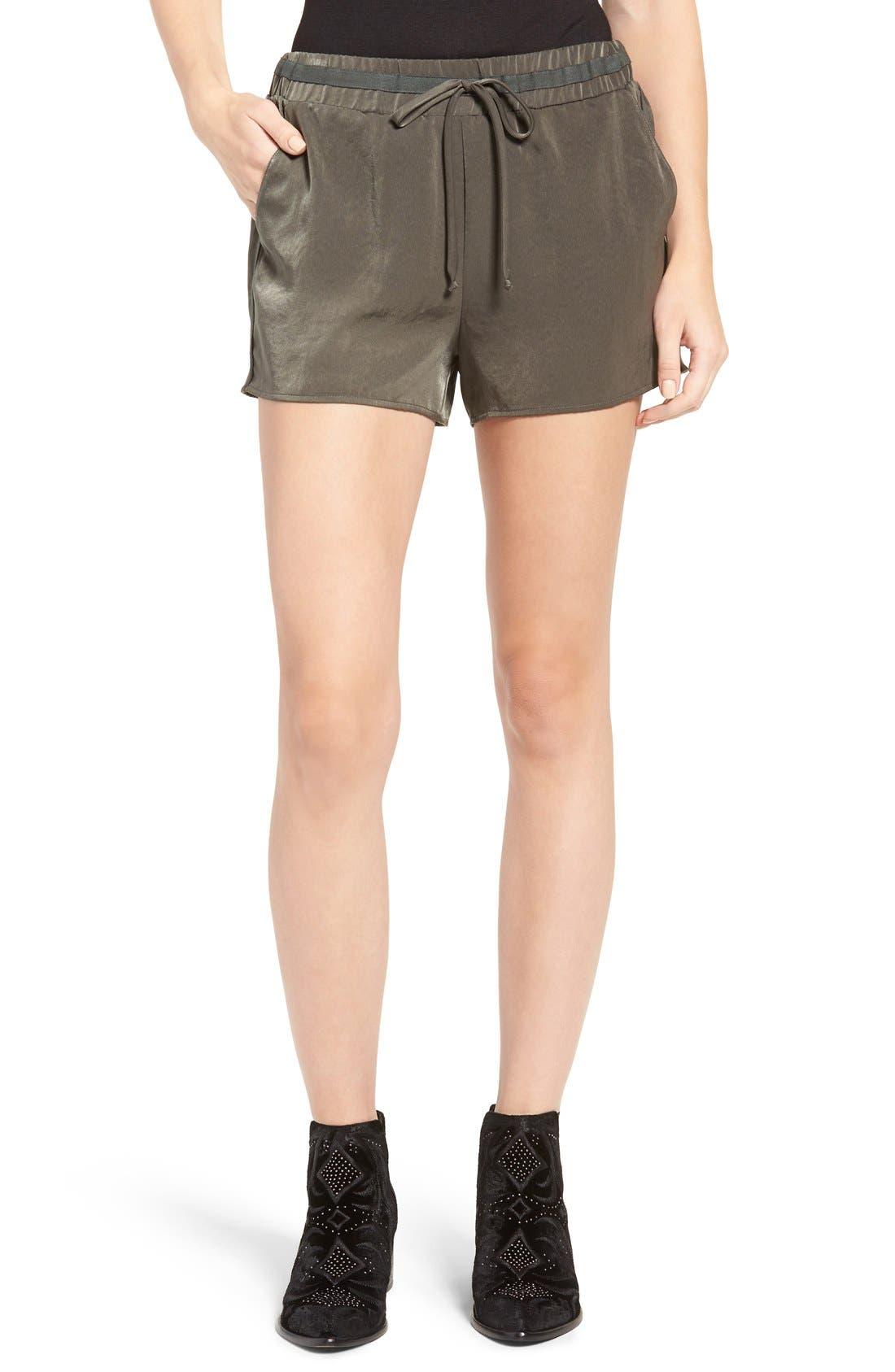 SOPRANO Satin Drawstring Shorts
