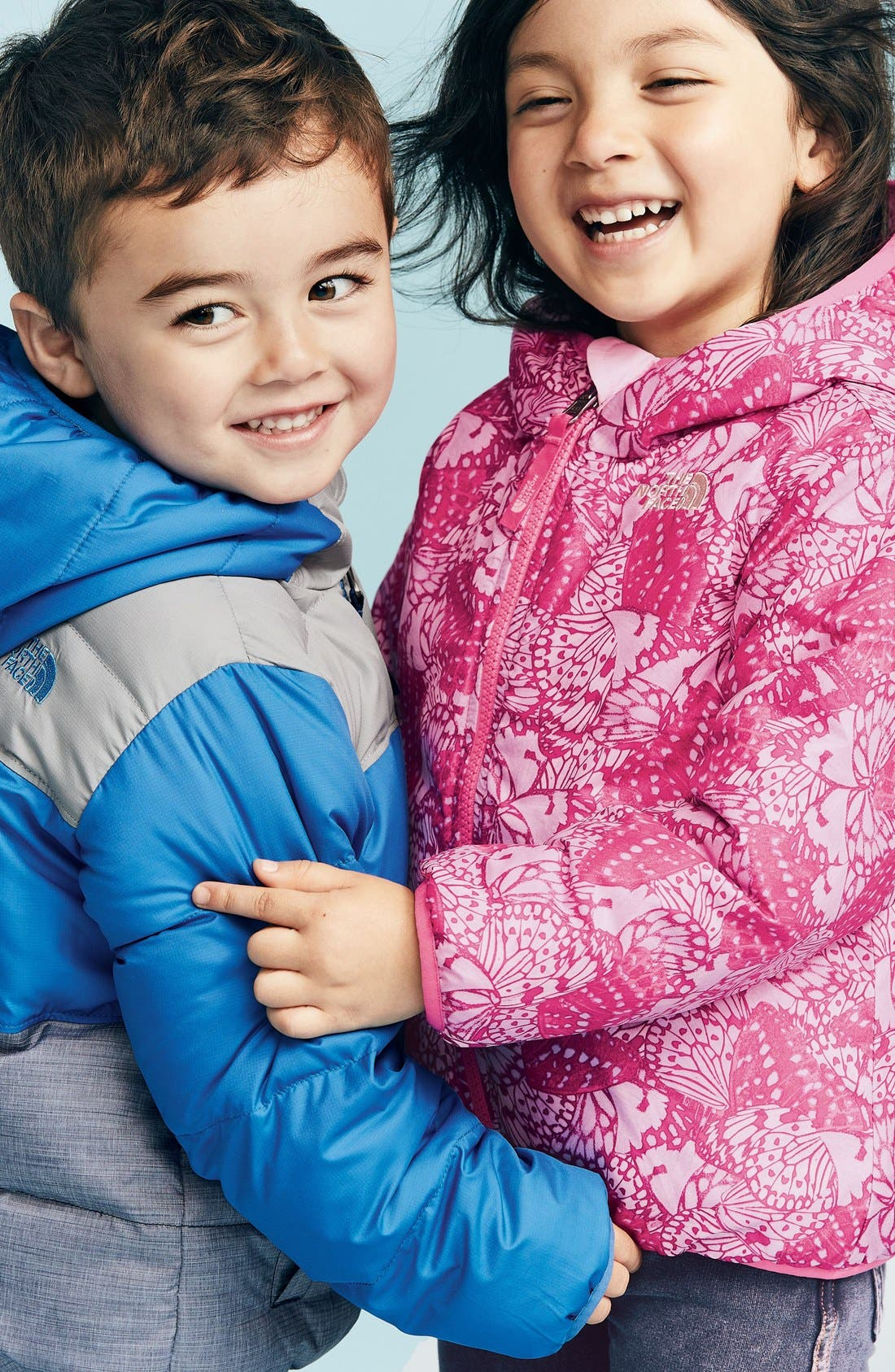 Alternate Image 2  - The North Face 'Perrito' Reversible Water Repellent Hooded Jacket (Toddler Girls & Little Girls)