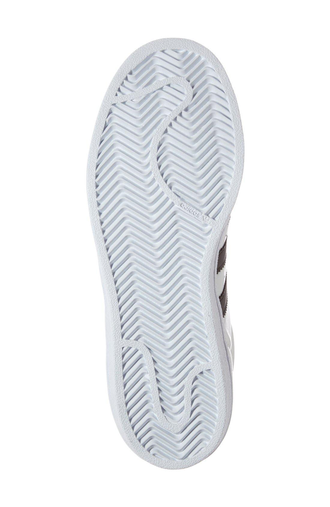 Alternate Image 4  - adidas Superstar Metallic Sneaker