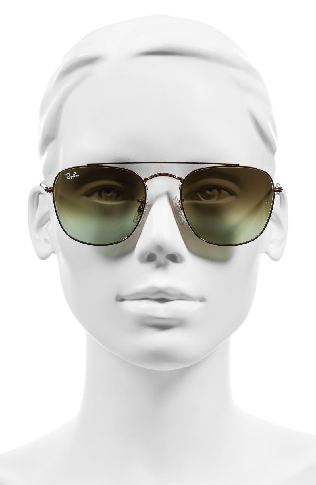 Alternate Image 2  - Ray-Ban Icons 54mm Aviator Sunglasses