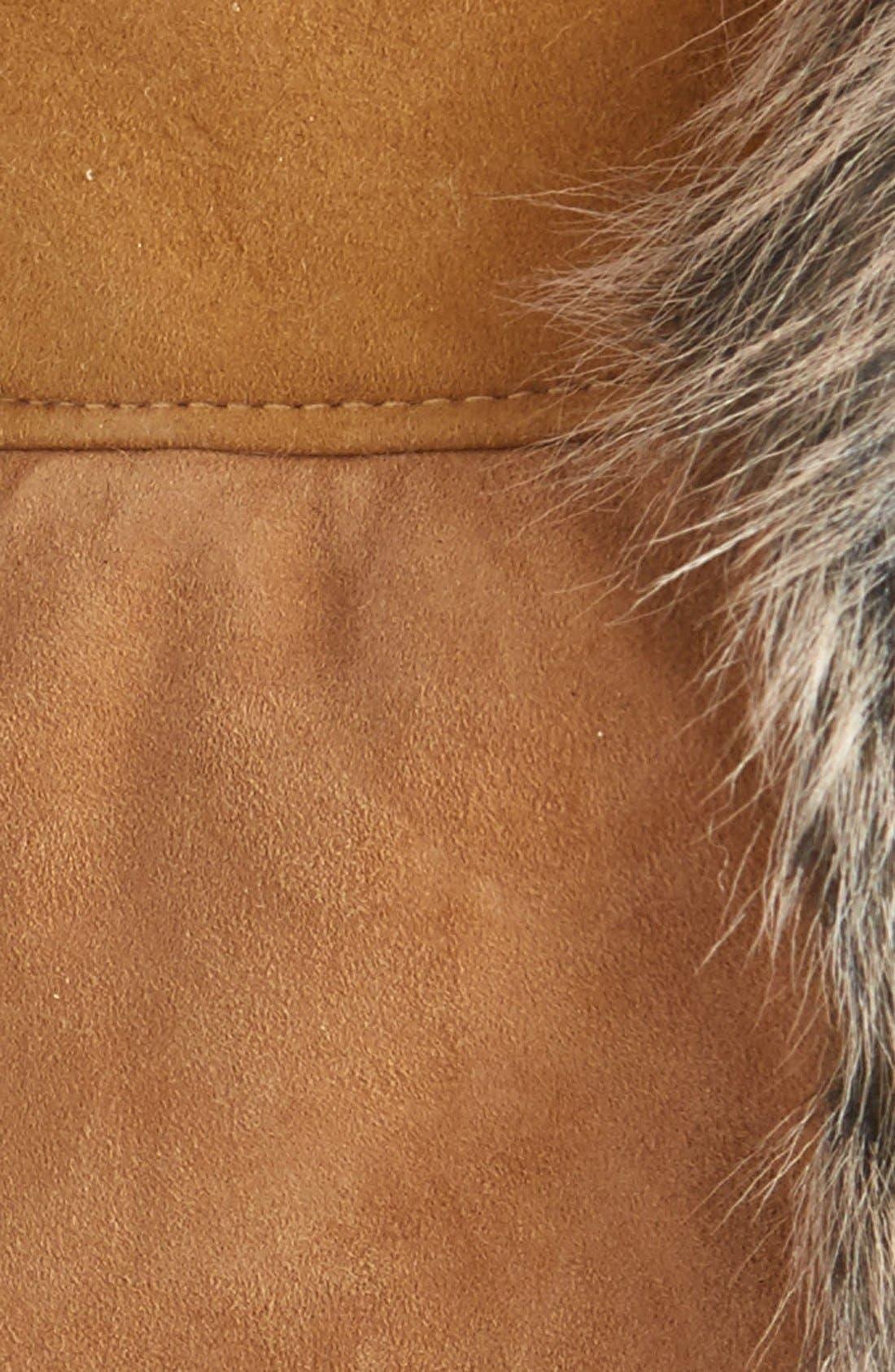 Alternate Image 2  - UGG® Genuine Shearling Trapper Hat