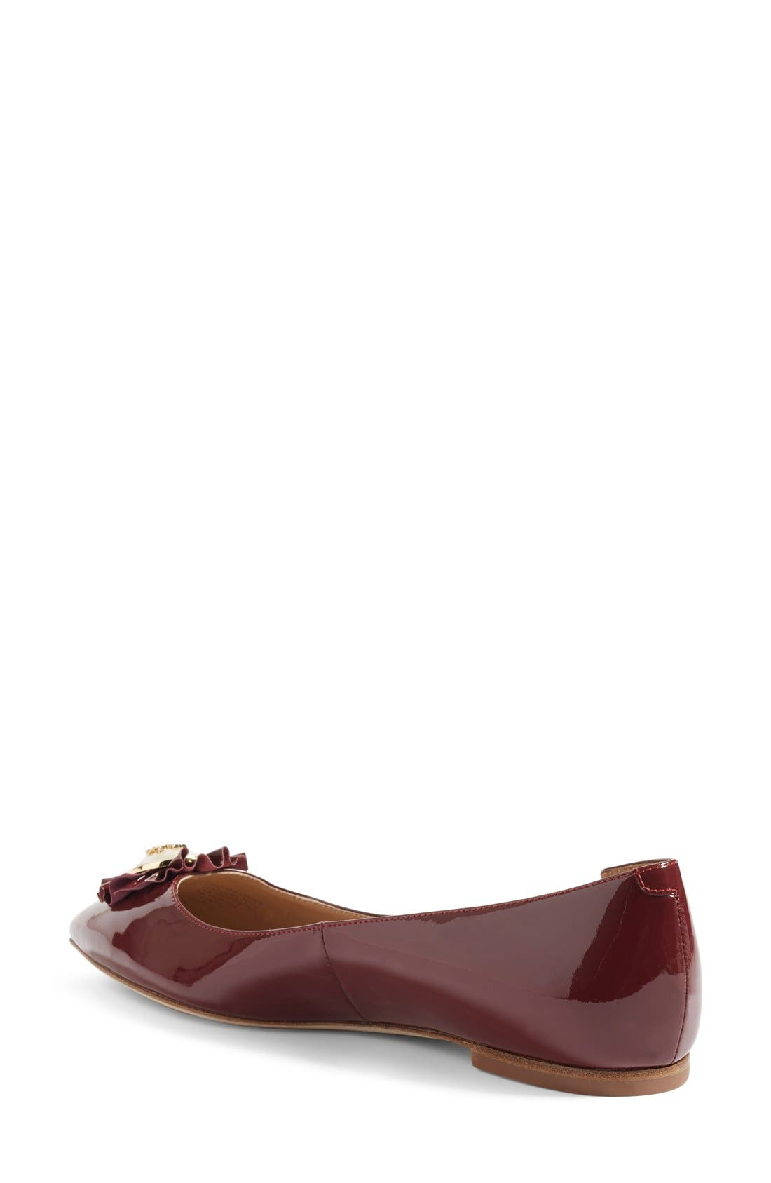 Alternate Image 2  - Tory Burch Melody Pointy Toe Flat (Women)