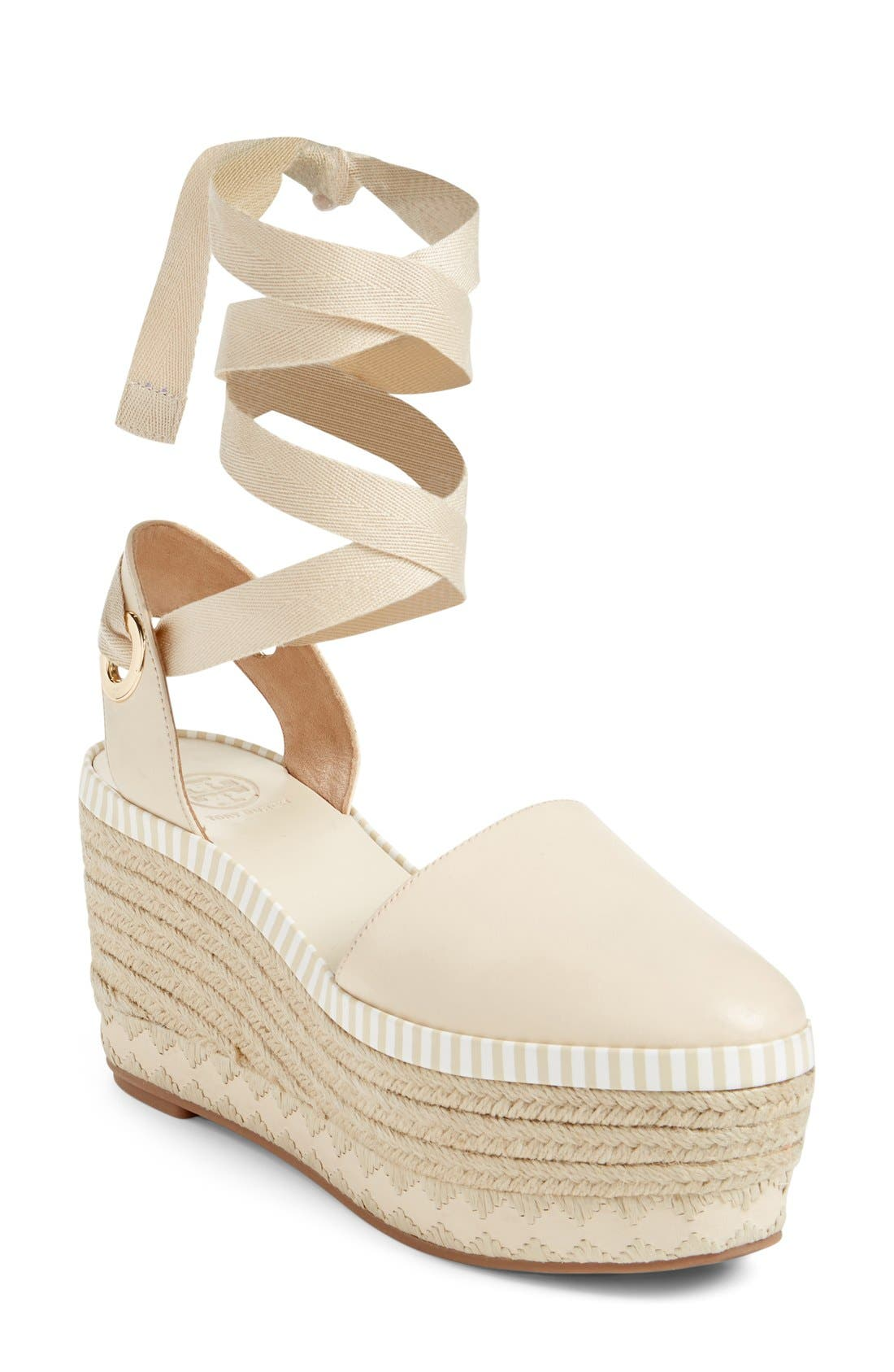 Alternate Image 1 Selected - Tory Burch Dandy Platform Espadrille (Women)
